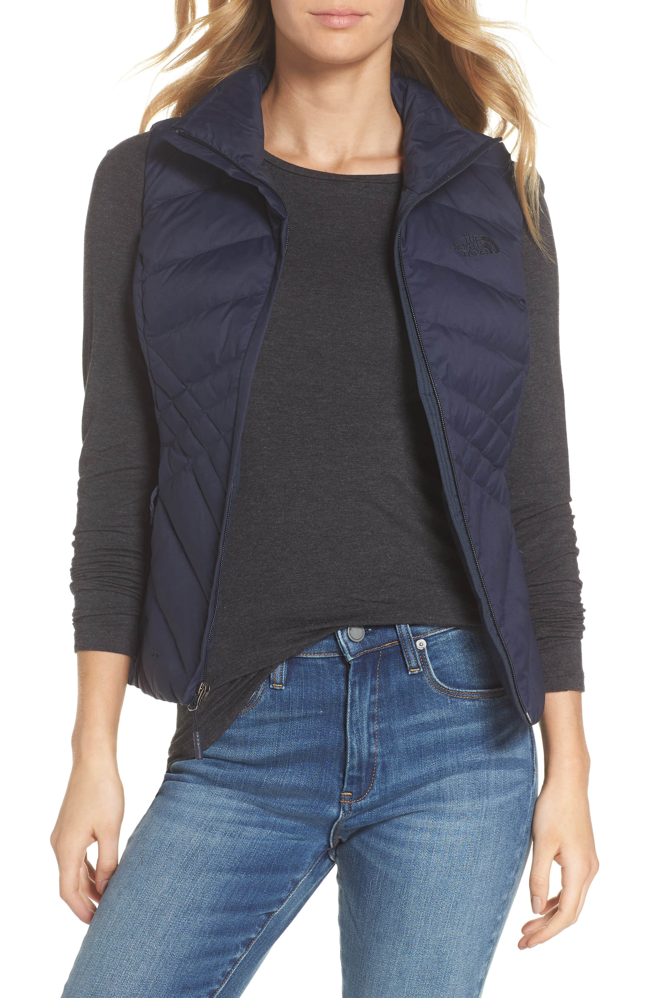 Aconcagua Down Vest,                             Main thumbnail 1, color,                             MATTE URBAN NAVY