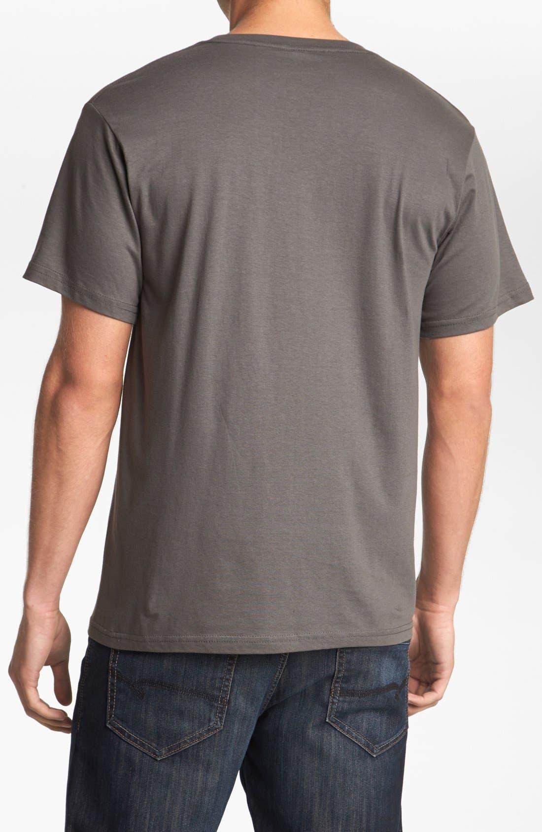 HORSES CUT SHOP,                             'Baranof' T-Shirt,                             Alternate thumbnail 3, color,                             020