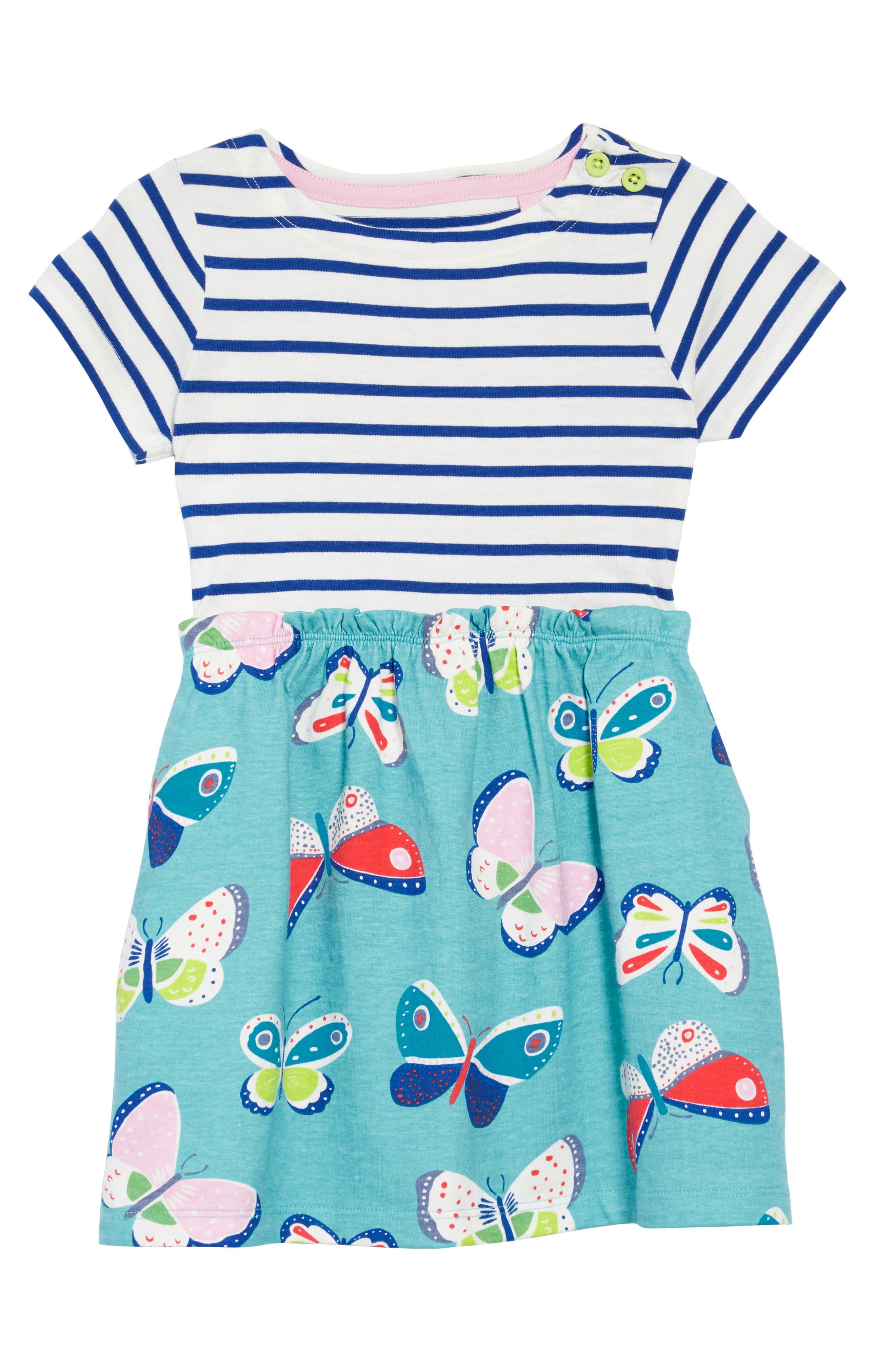 Bright Hotchpotch Jersey Dress,                             Main thumbnail 1, color,                             901
