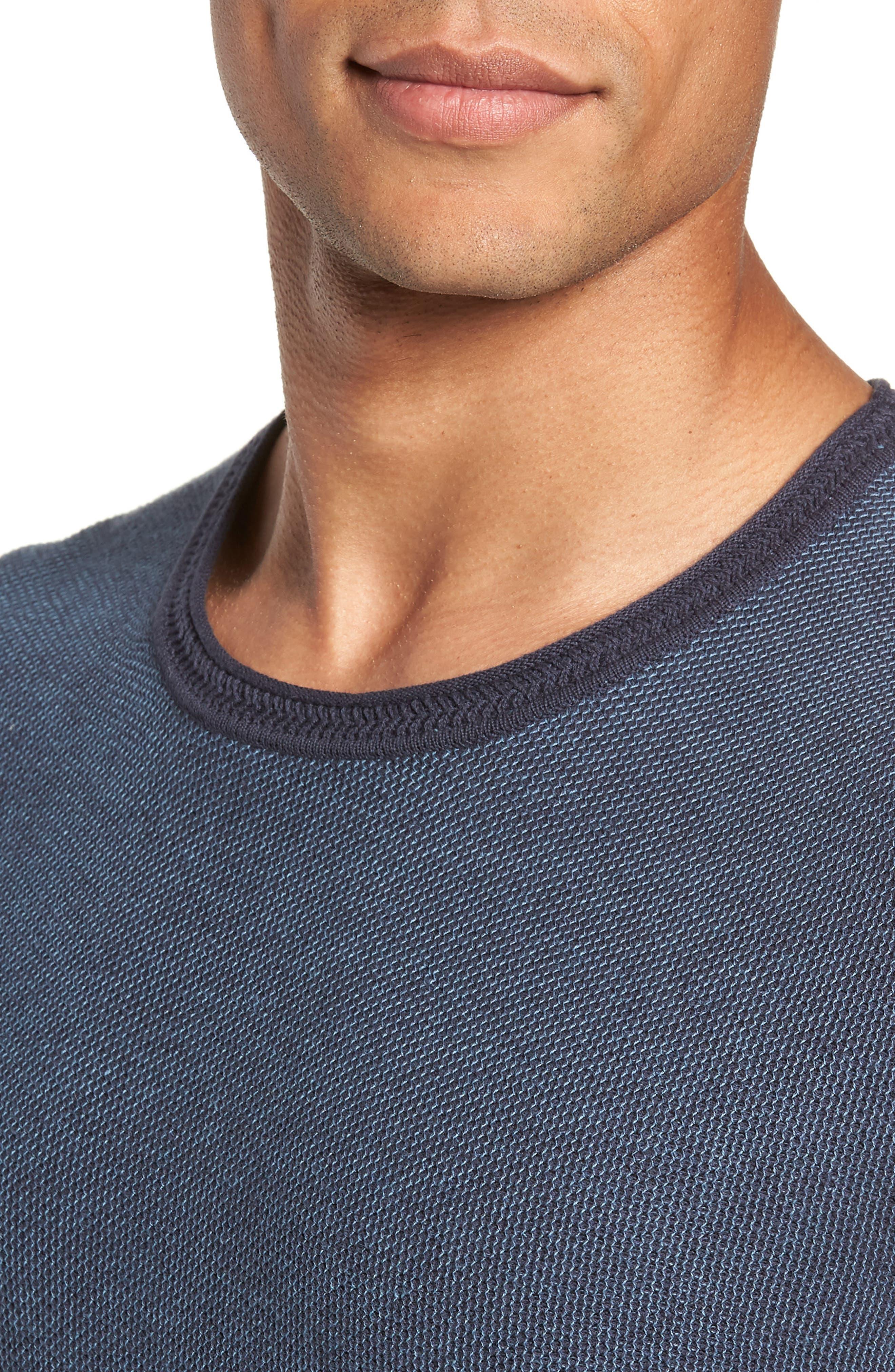 Space Dye Slim Fit Sweater,                             Alternate thumbnail 11, color,