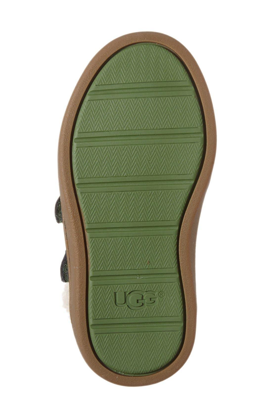 Rennon High Top Sneaker,                             Alternate thumbnail 4, color,                             001