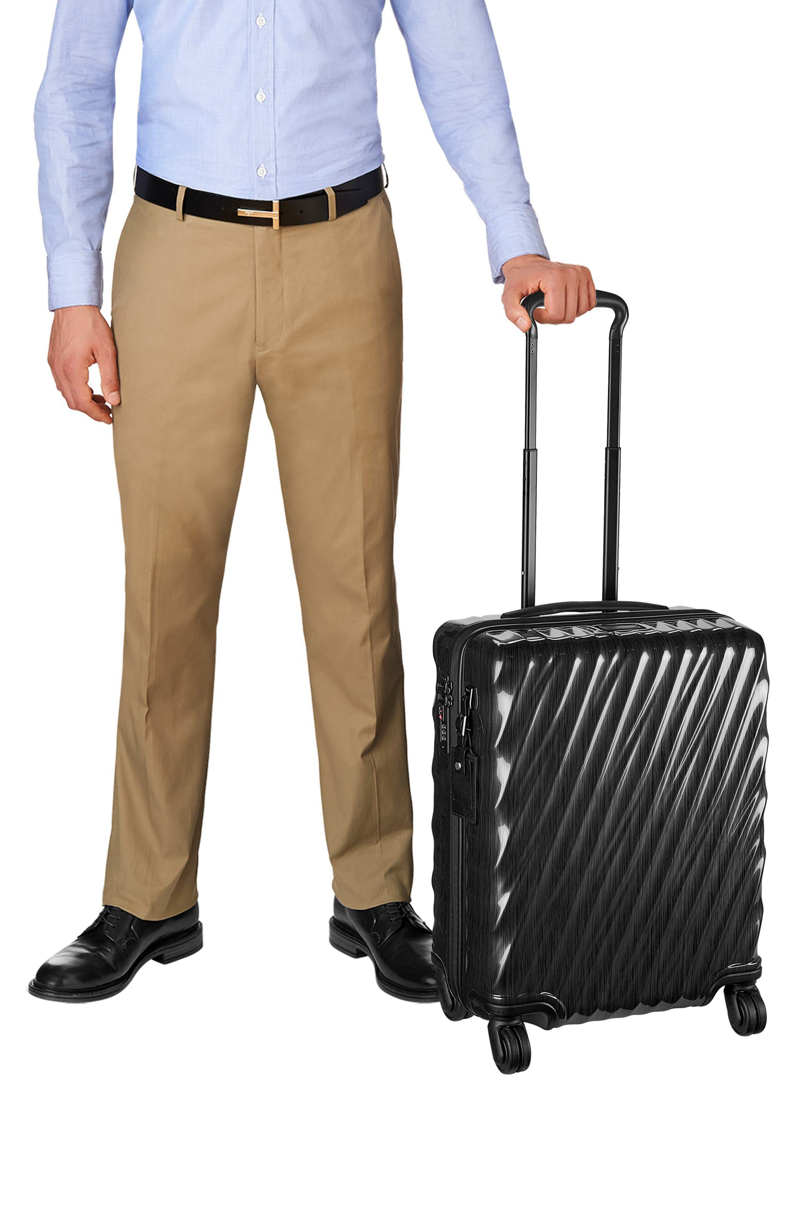 19 Degree 22 Inch Continental Wheeled Carry-On,                             Alternate thumbnail 2, color,                             001