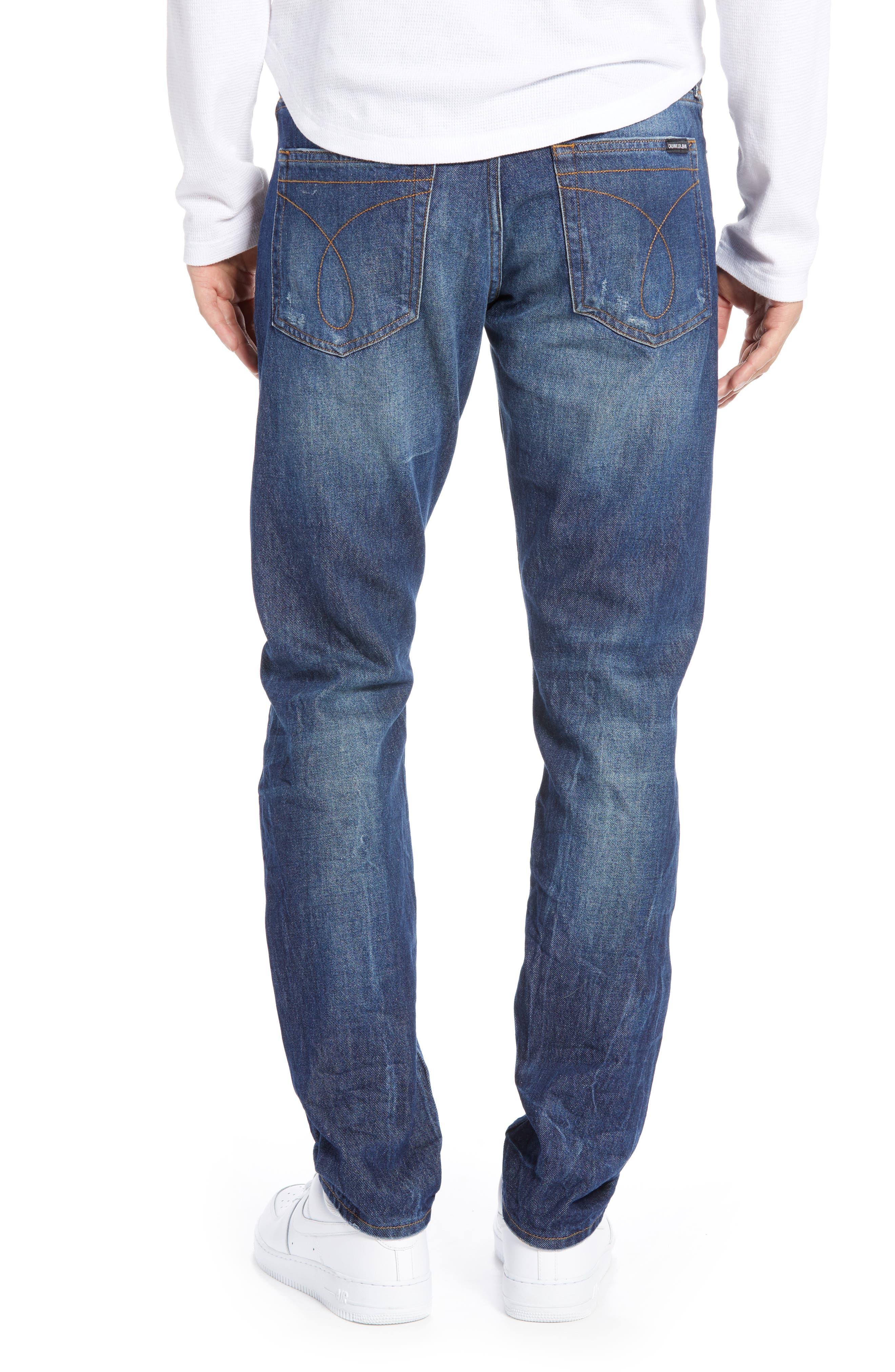 Slim Fit Jeans,                             Alternate thumbnail 2, color,                             400