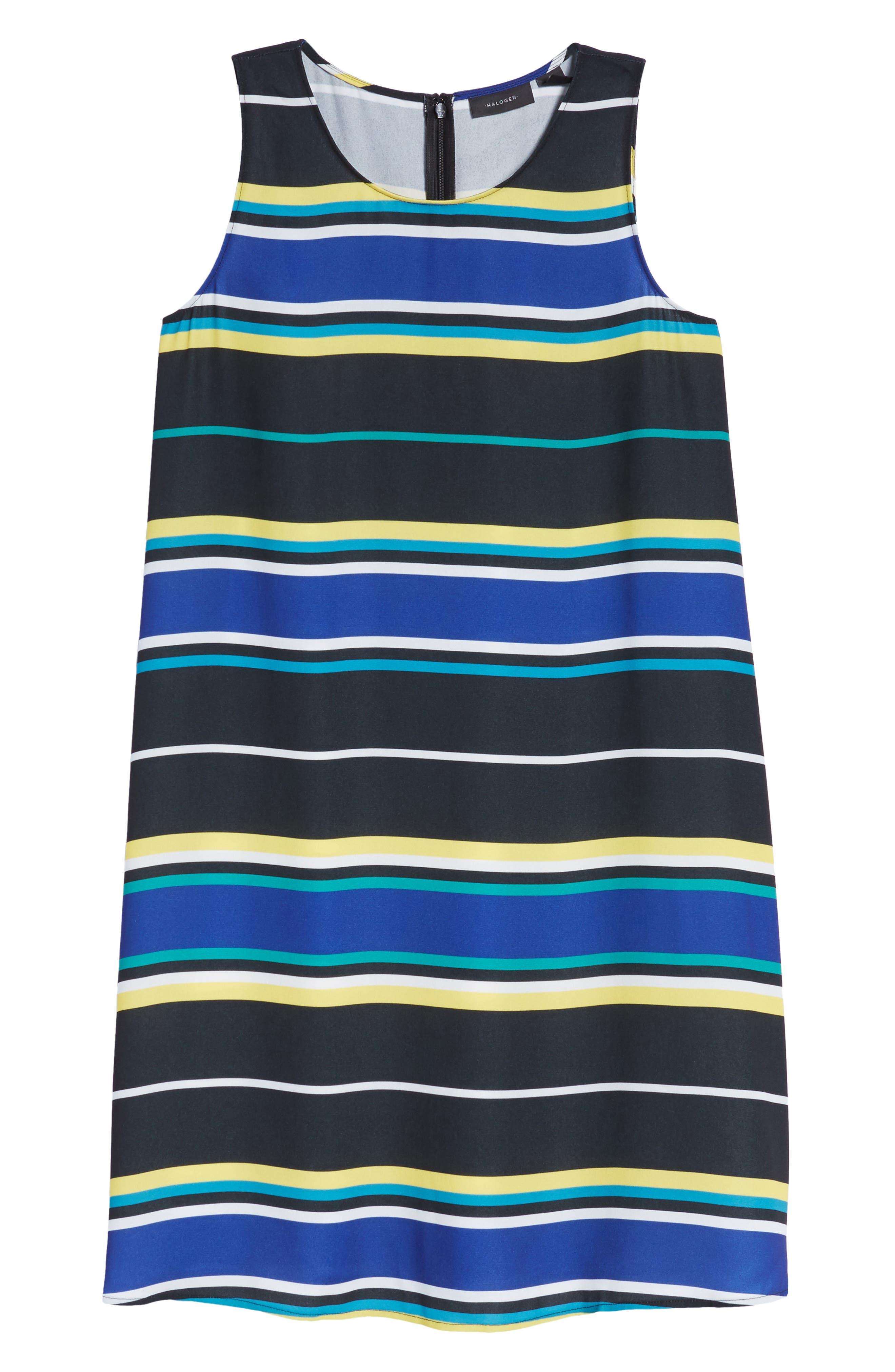 A-Line Dress,                             Alternate thumbnail 7, color,                             005