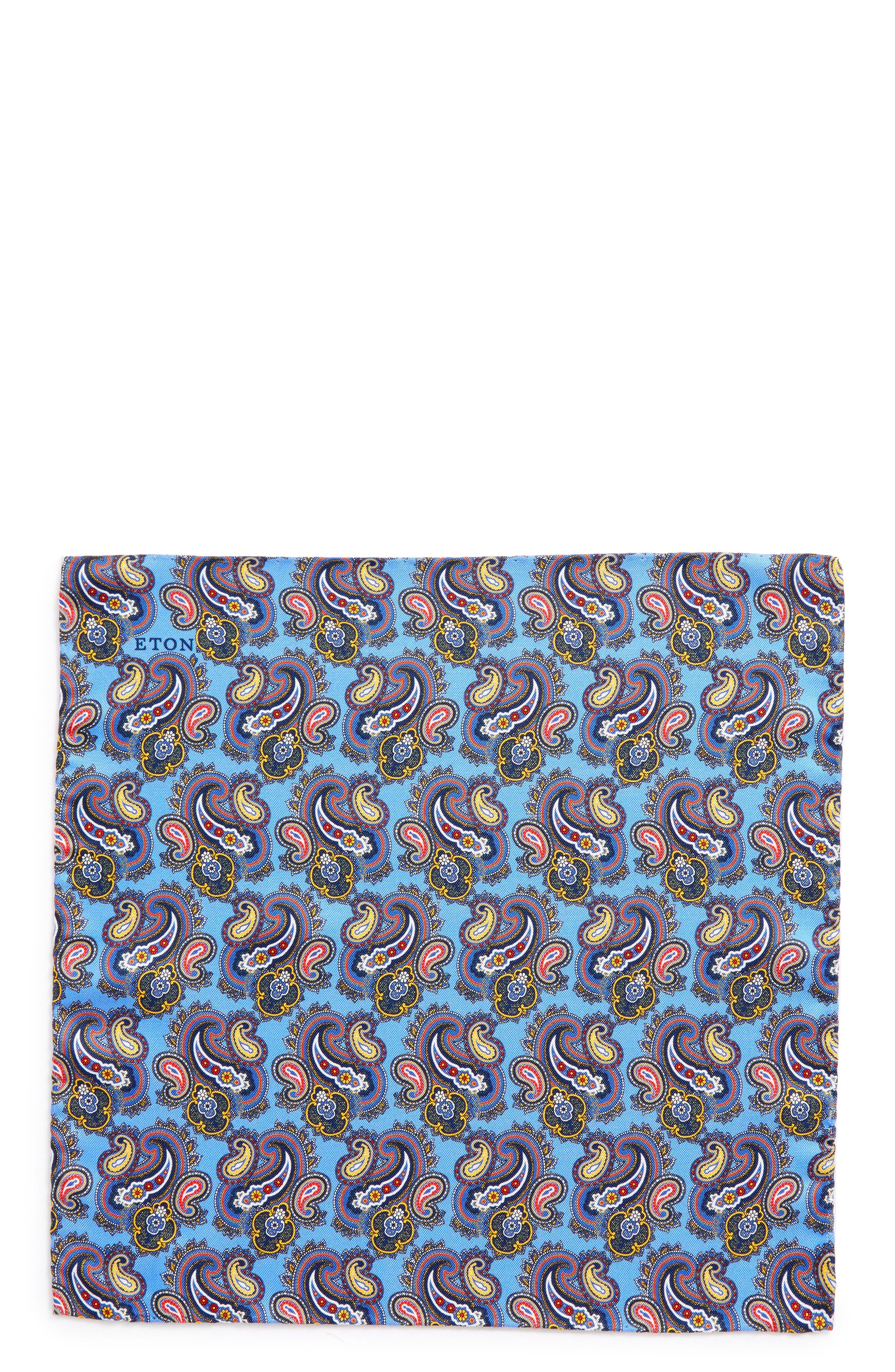 Print Silk Pocket Square,                             Alternate thumbnail 5, color,
