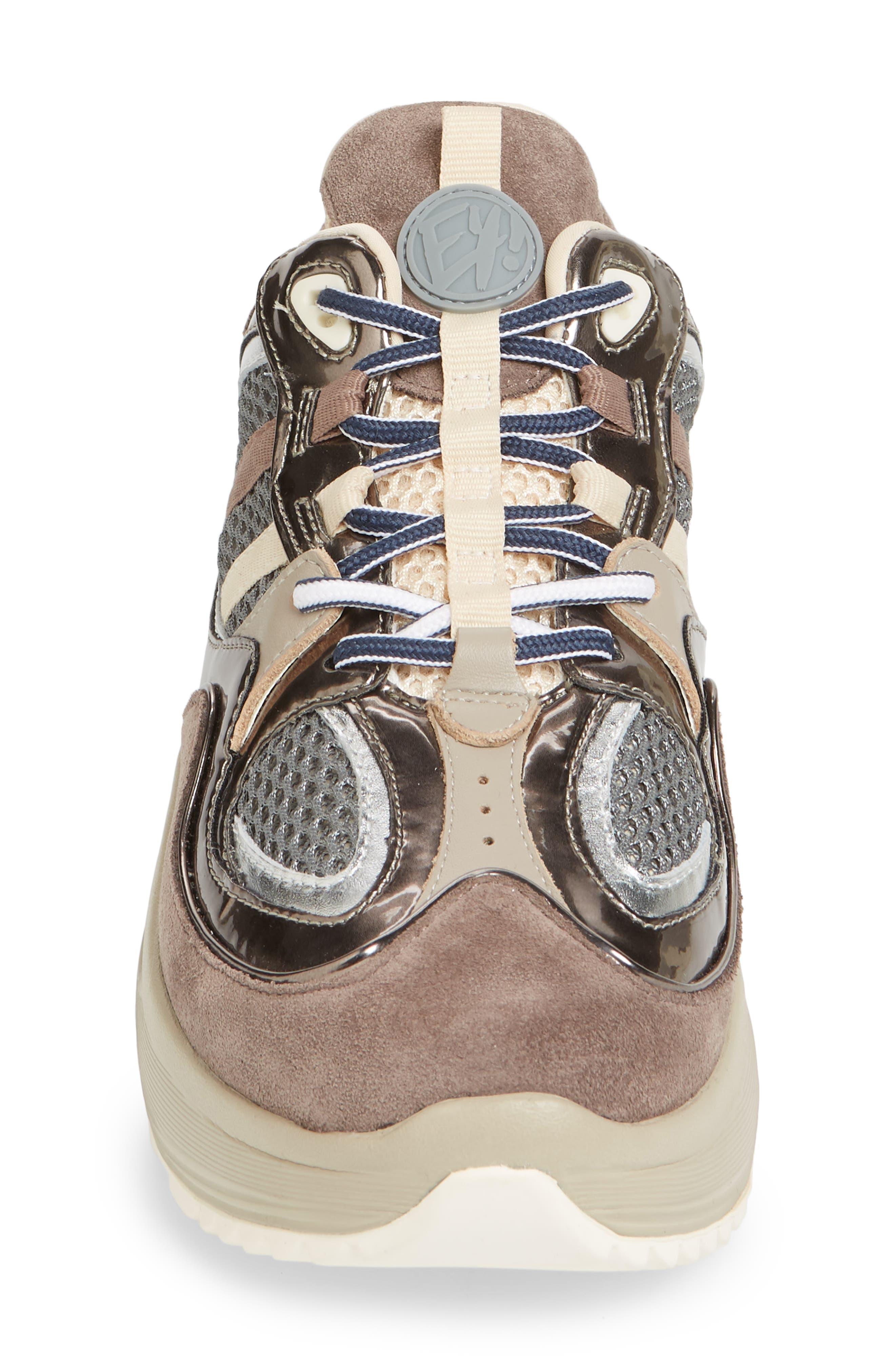 Jet Turbo Flatform Sneaker,                             Alternate thumbnail 4, color,                             060