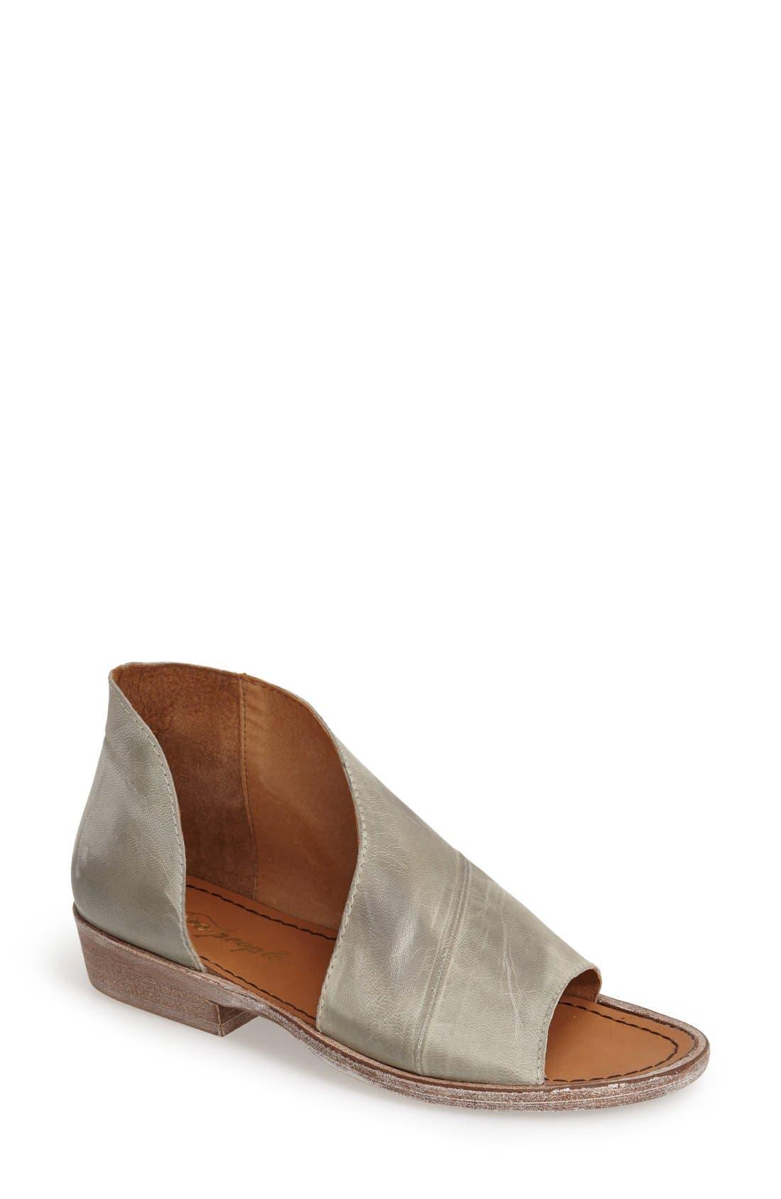'Mont Blanc' Asymmetrical Sandal,                             Main thumbnail 7, color,