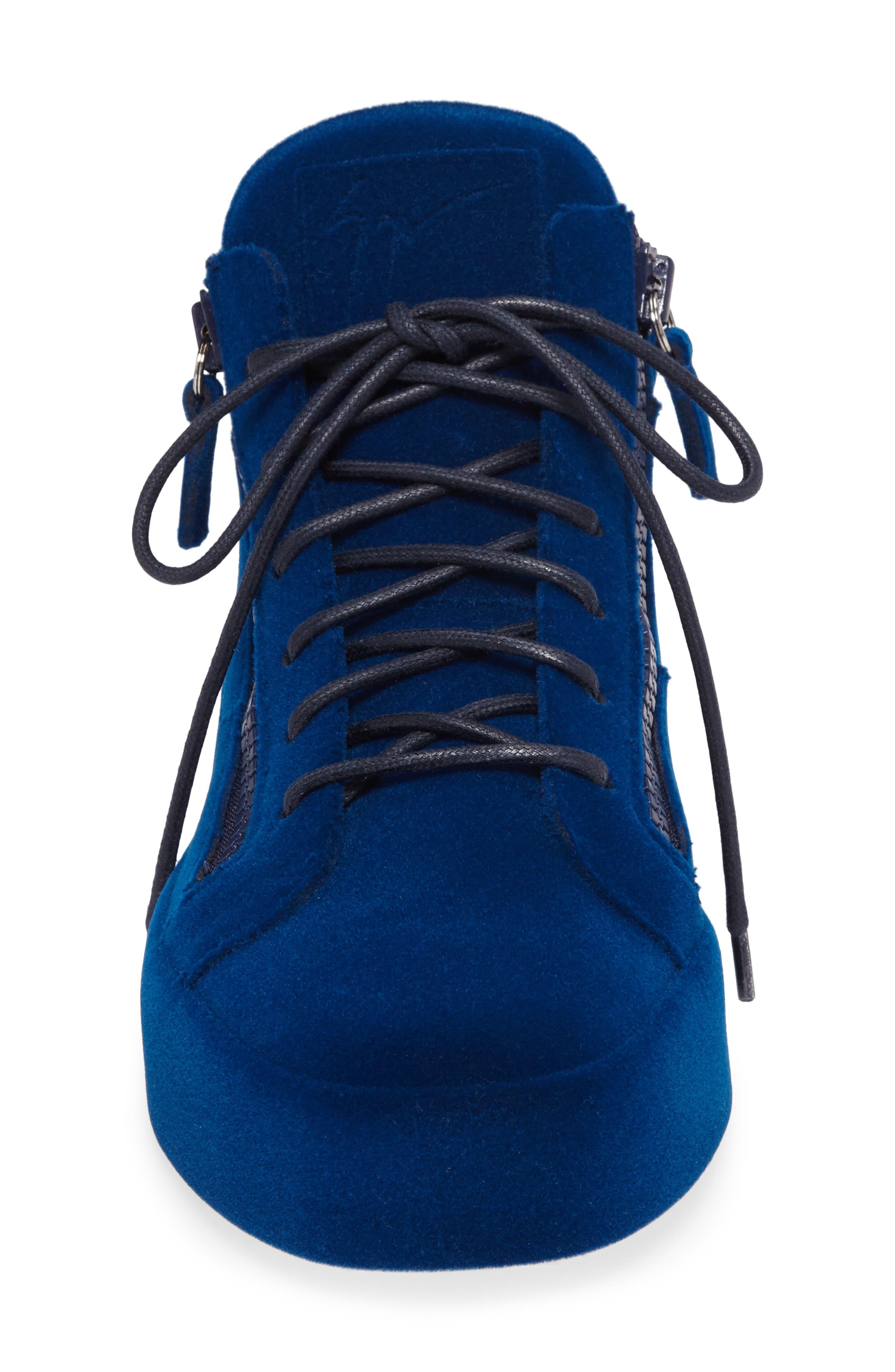 Mid Top Sneaker,                             Alternate thumbnail 4, color,                             469