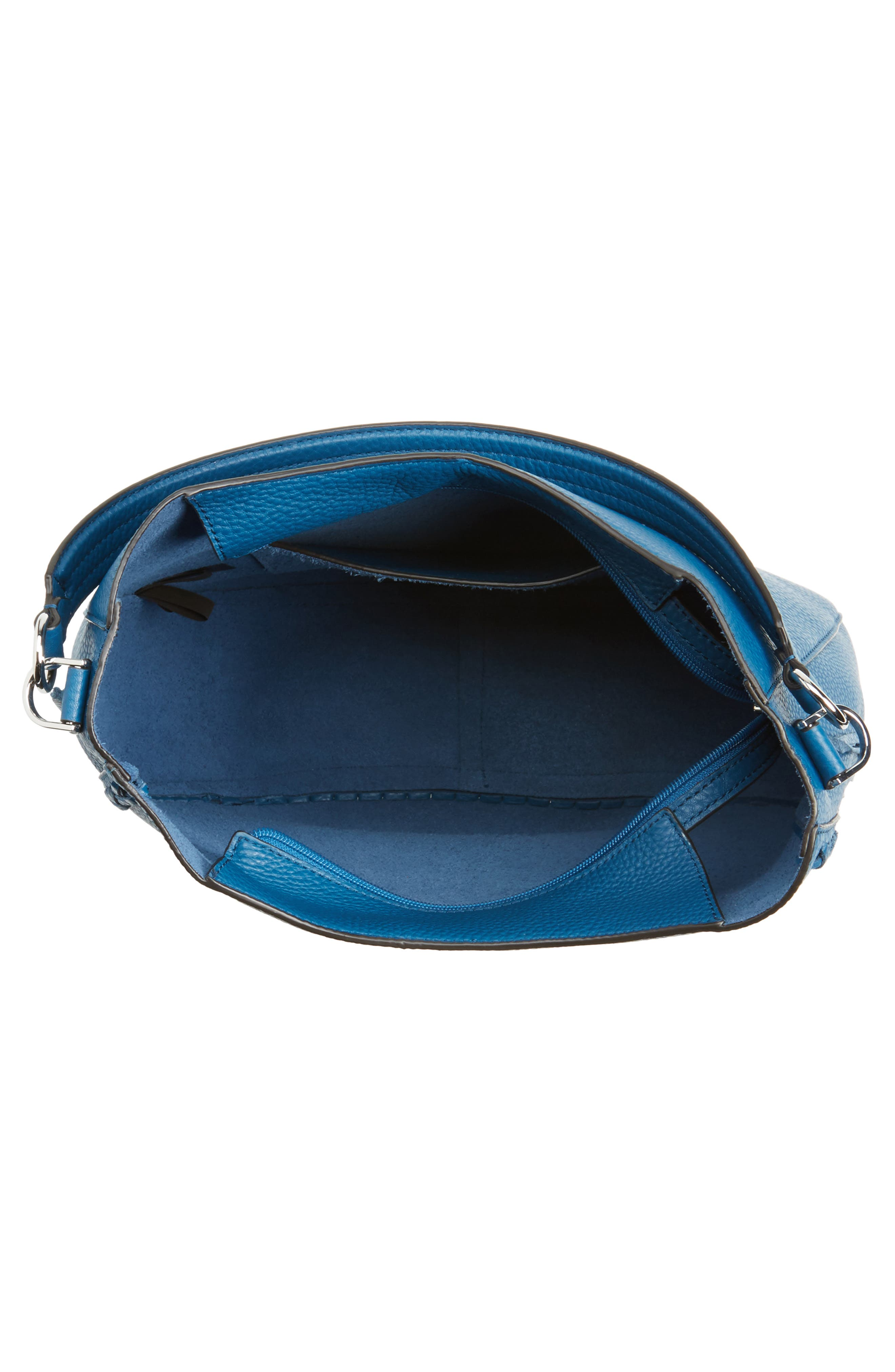 Unlined Convertible Whipstitch Hobo,                             Alternate thumbnail 26, color,
