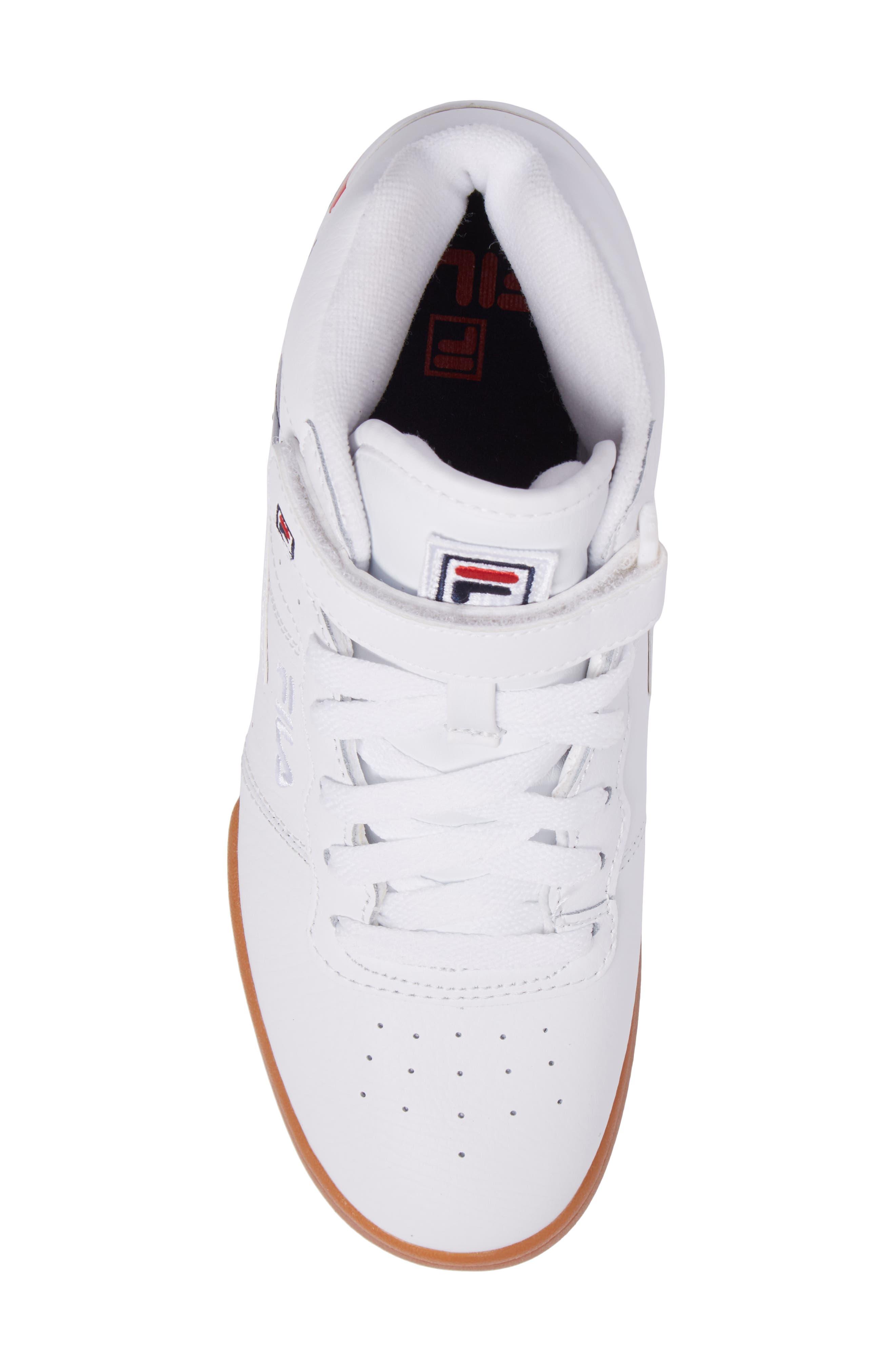 Original Fitness Logo Mid Top Sneaker,                             Alternate thumbnail 5, color,                             125