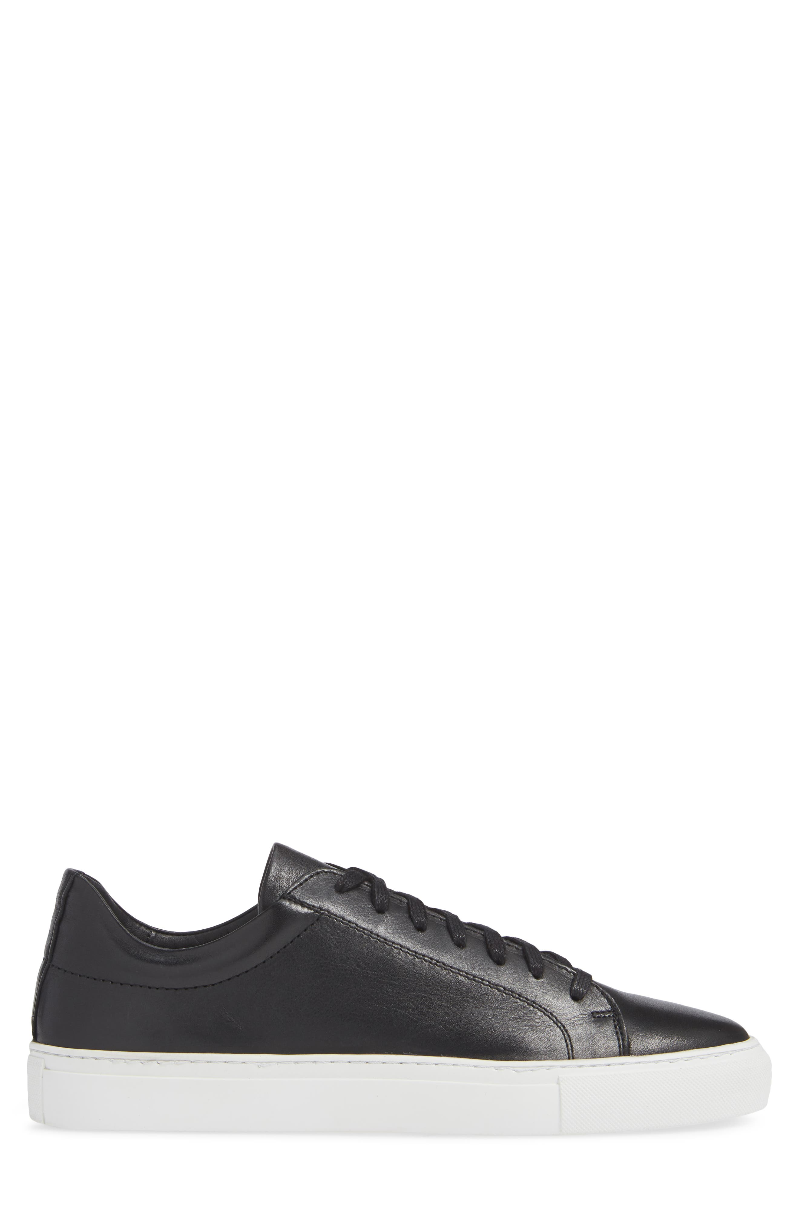 Damian Lace-Up Sneaker,                             Alternate thumbnail 3, color,                             001