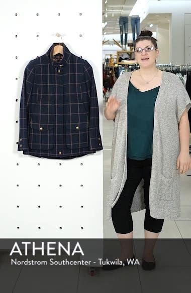 Check Plaid Coat, sales video thumbnail