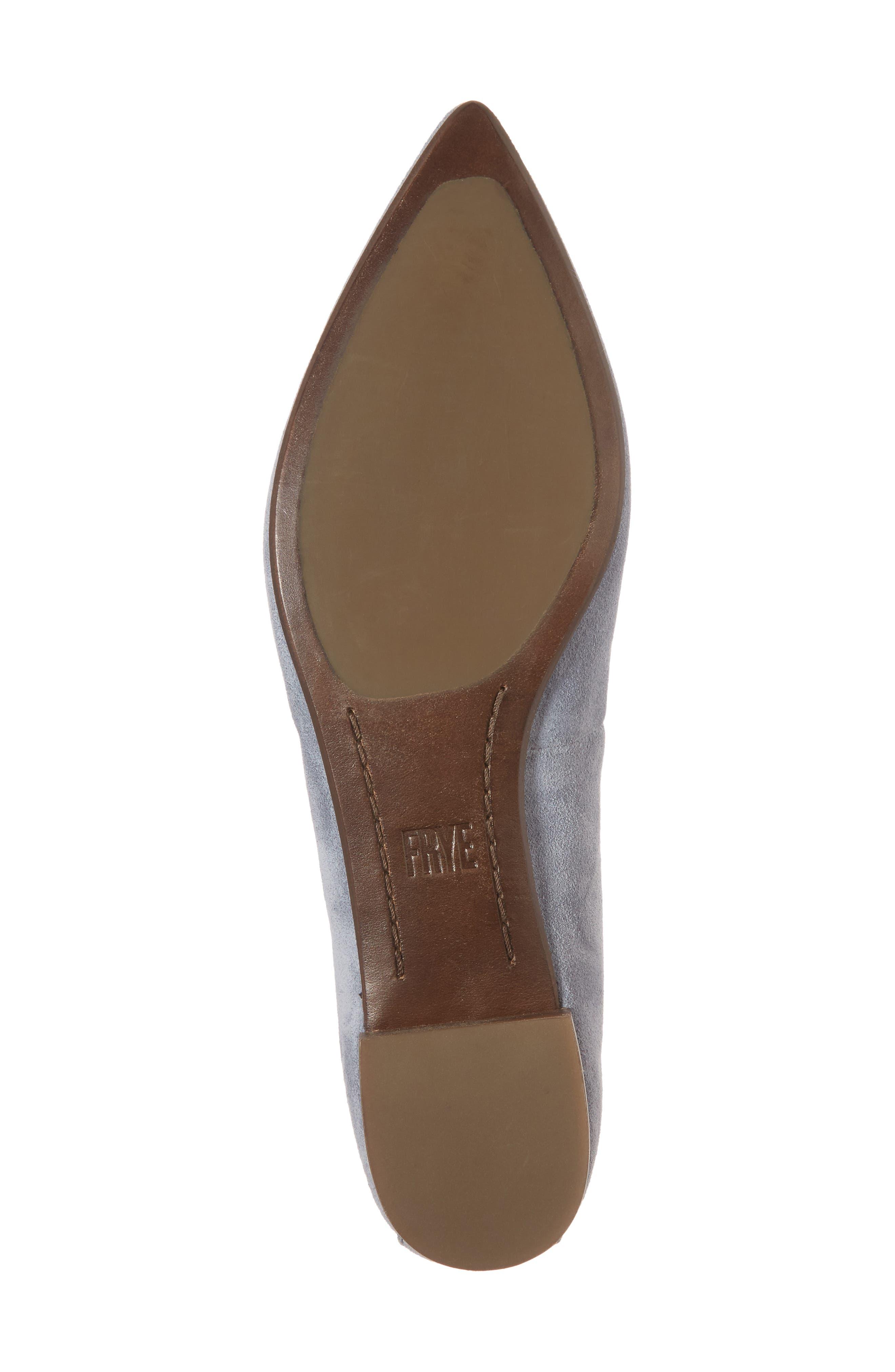Sienna Pointy Toe Ballet Flat,                             Alternate thumbnail 18, color,