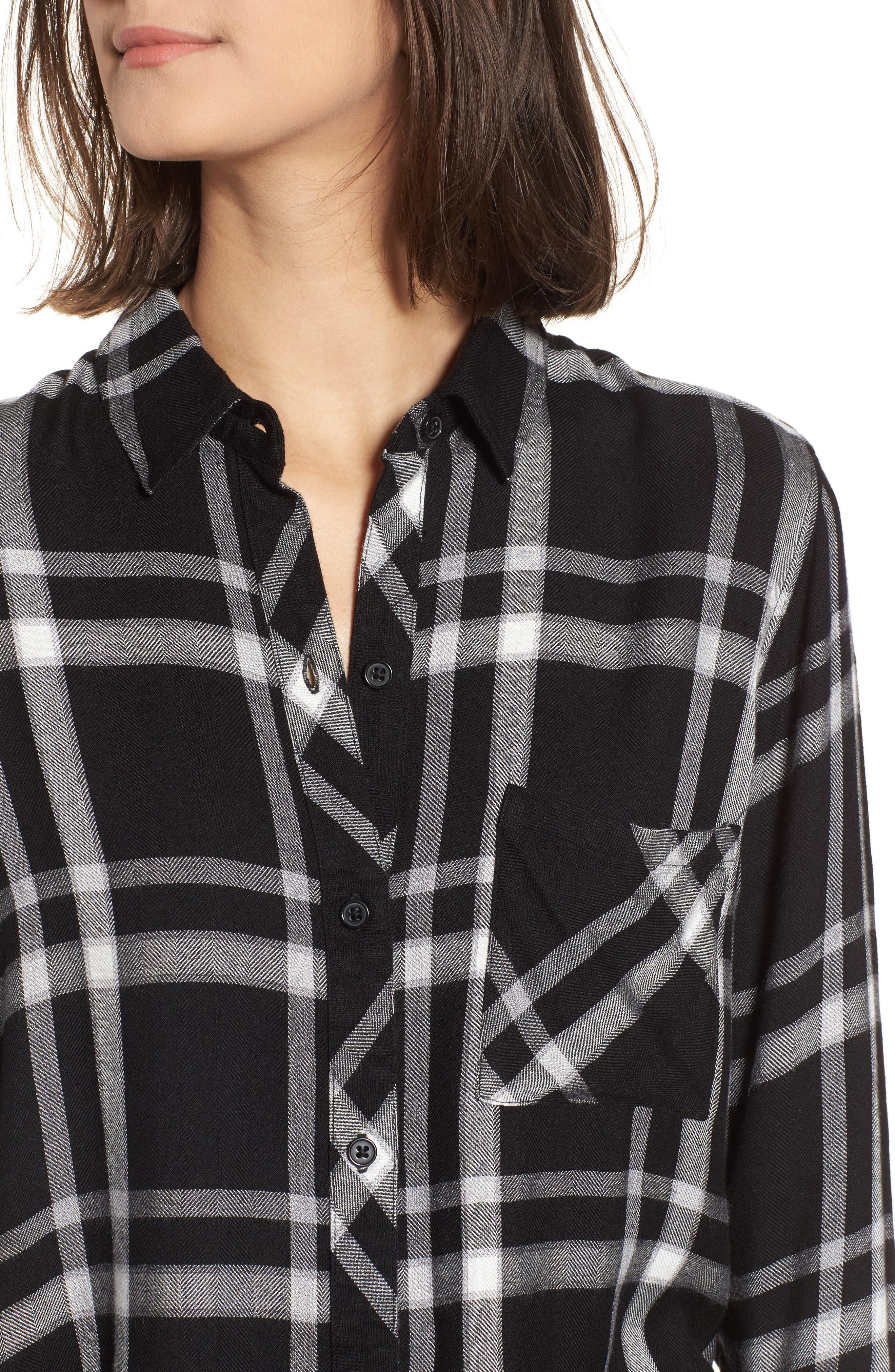 Hunter Plaid Shirt,                             Alternate thumbnail 430, color,