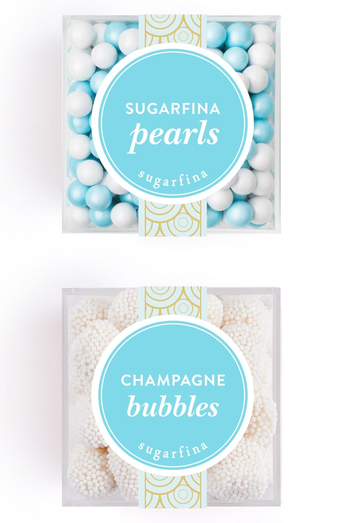 Pearls & Champagne Bubbles Gift Box Set, Main, color, BLUE