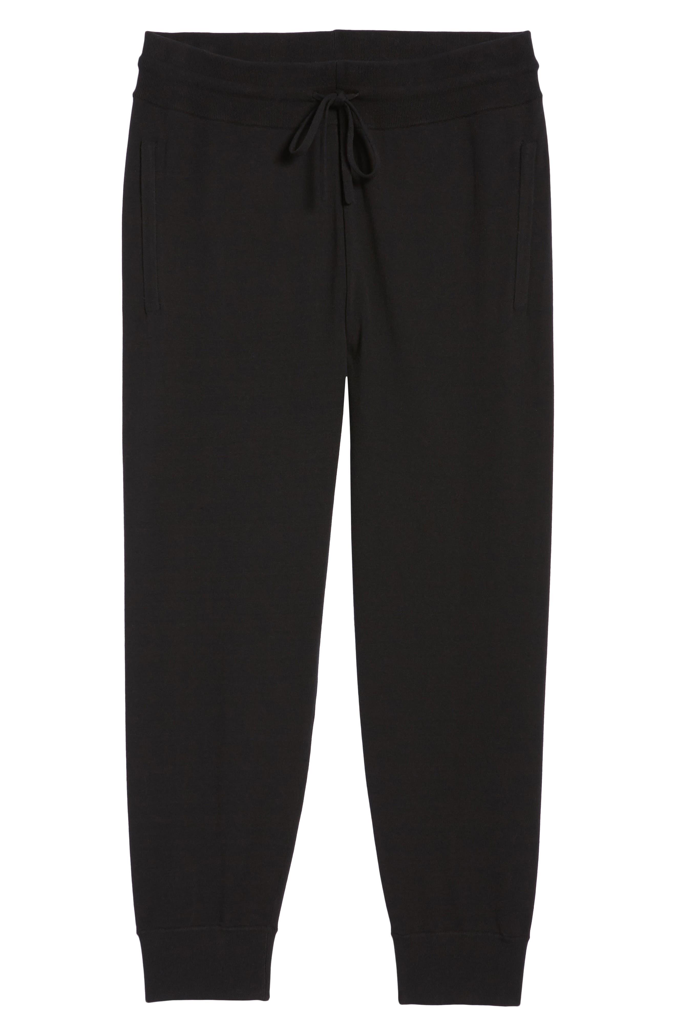 Slim Fit Jogger Pants,                             Alternate thumbnail 6, color,                             001
