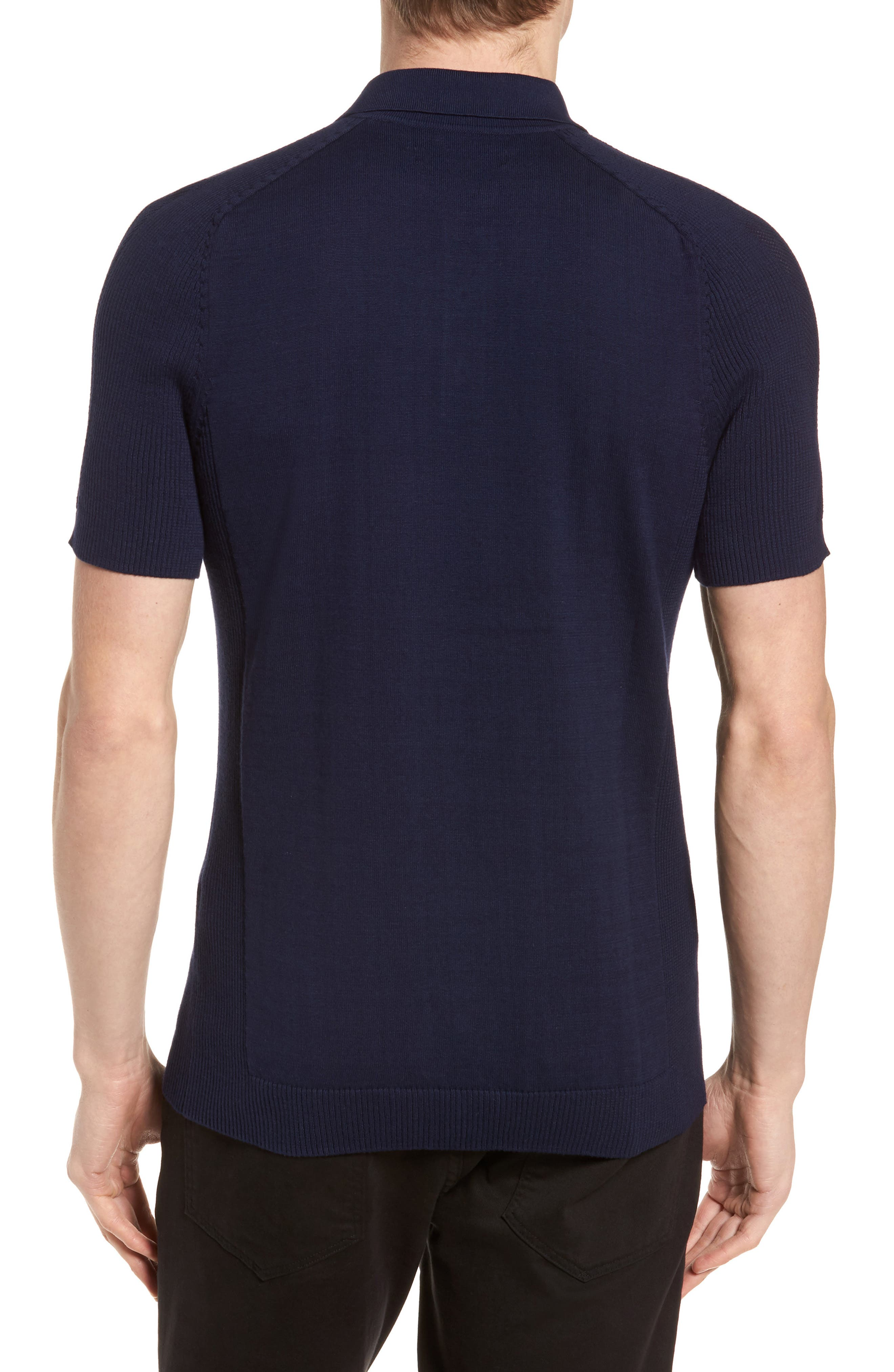 Sweater Polo,                             Alternate thumbnail 6, color,