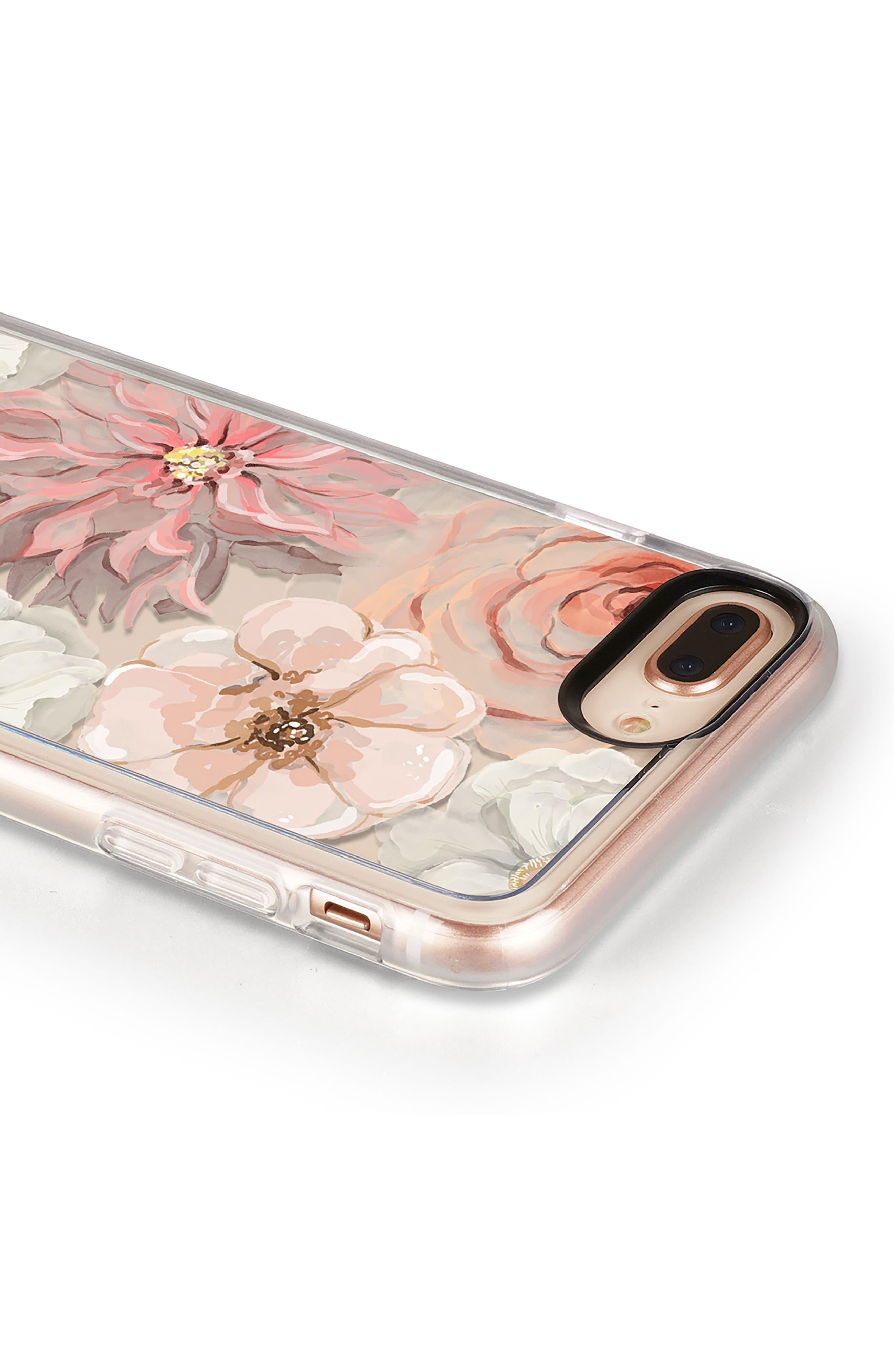 Pretty Blush iPhone 7/8 & 7/8 Plus Case,                             Alternate thumbnail 5, color,                             BLUSH PINK