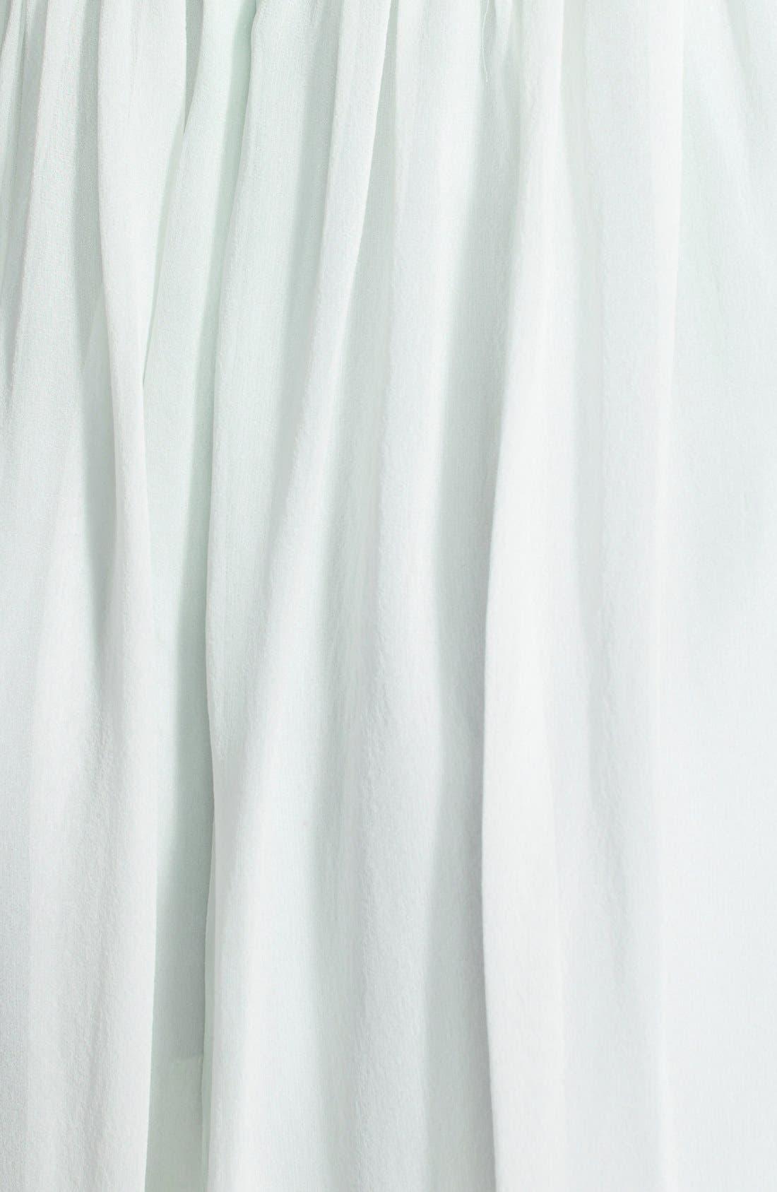 'Morgan' Strapless Silk Chiffon Dress,                             Alternate thumbnail 46, color,