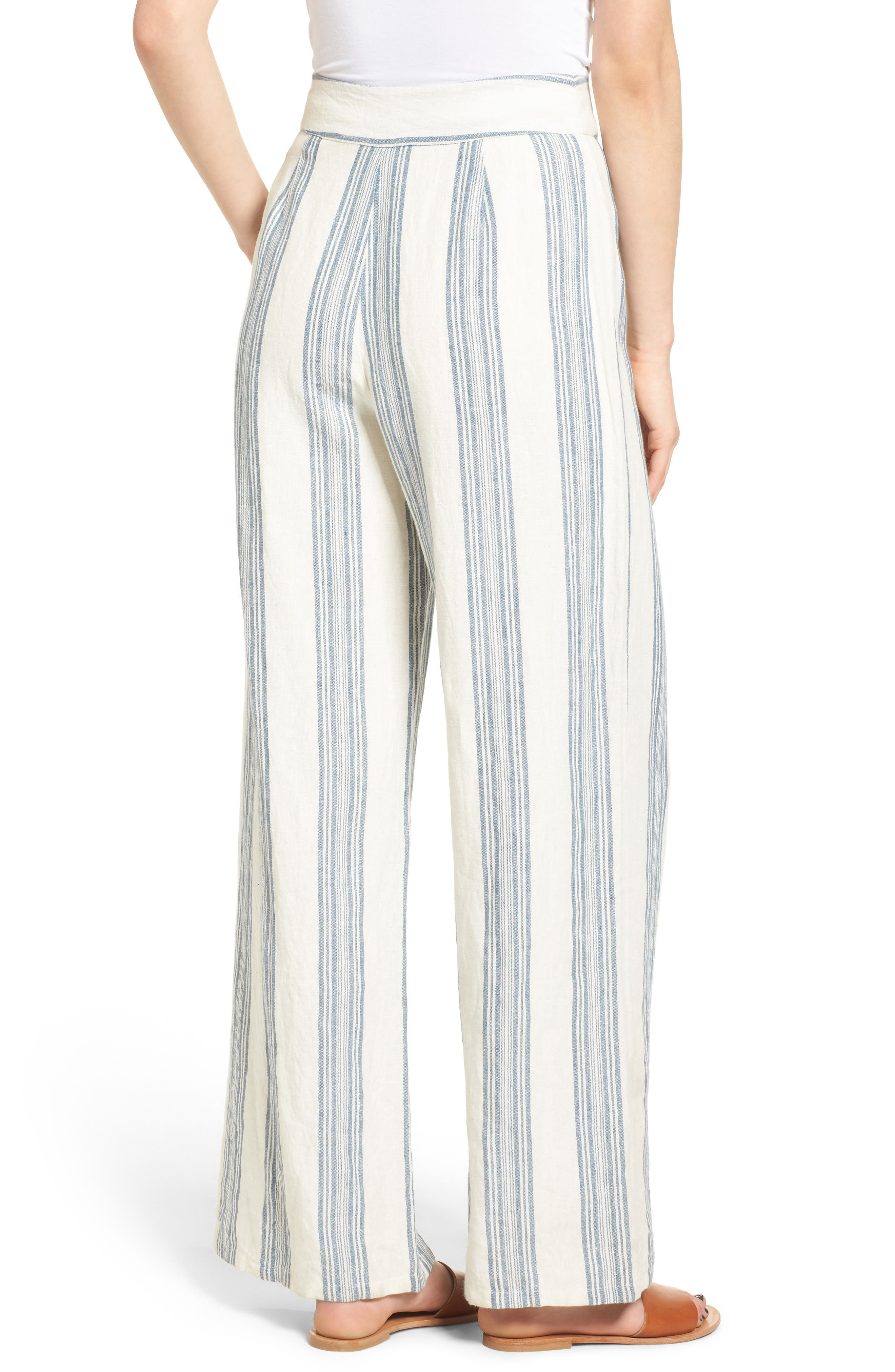 TULAROSA,                             Marley Linen Pants,                             Alternate thumbnail 2, color,                             472