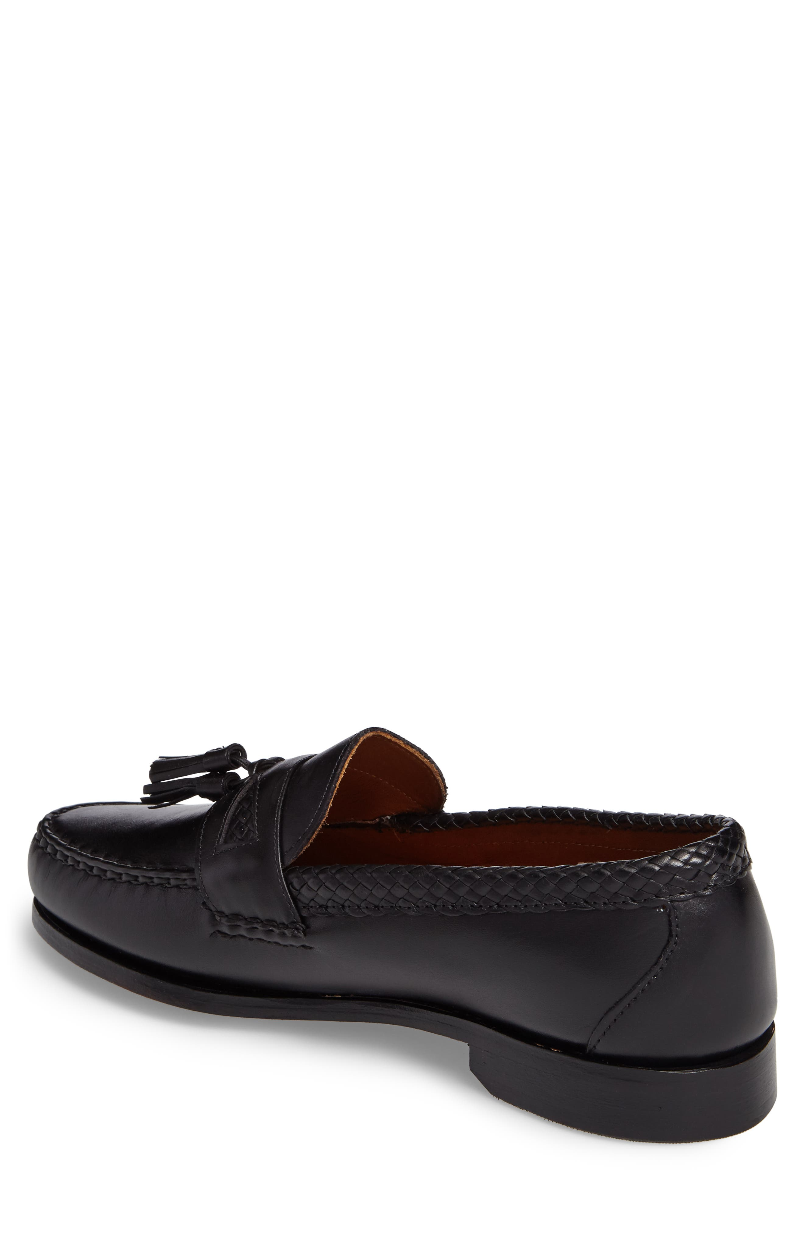 'Maxfield' Loafer,                             Alternate thumbnail 2, color,                             BLACK