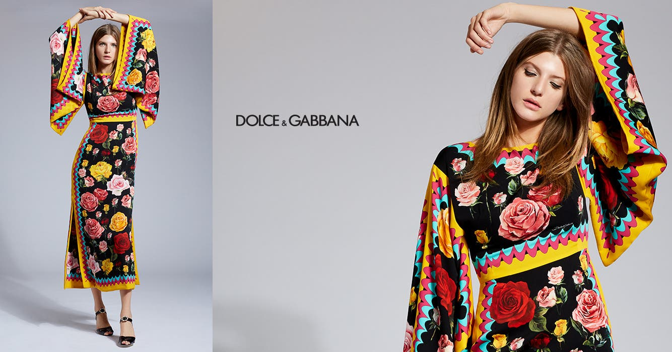 Dolce and Gabbana.