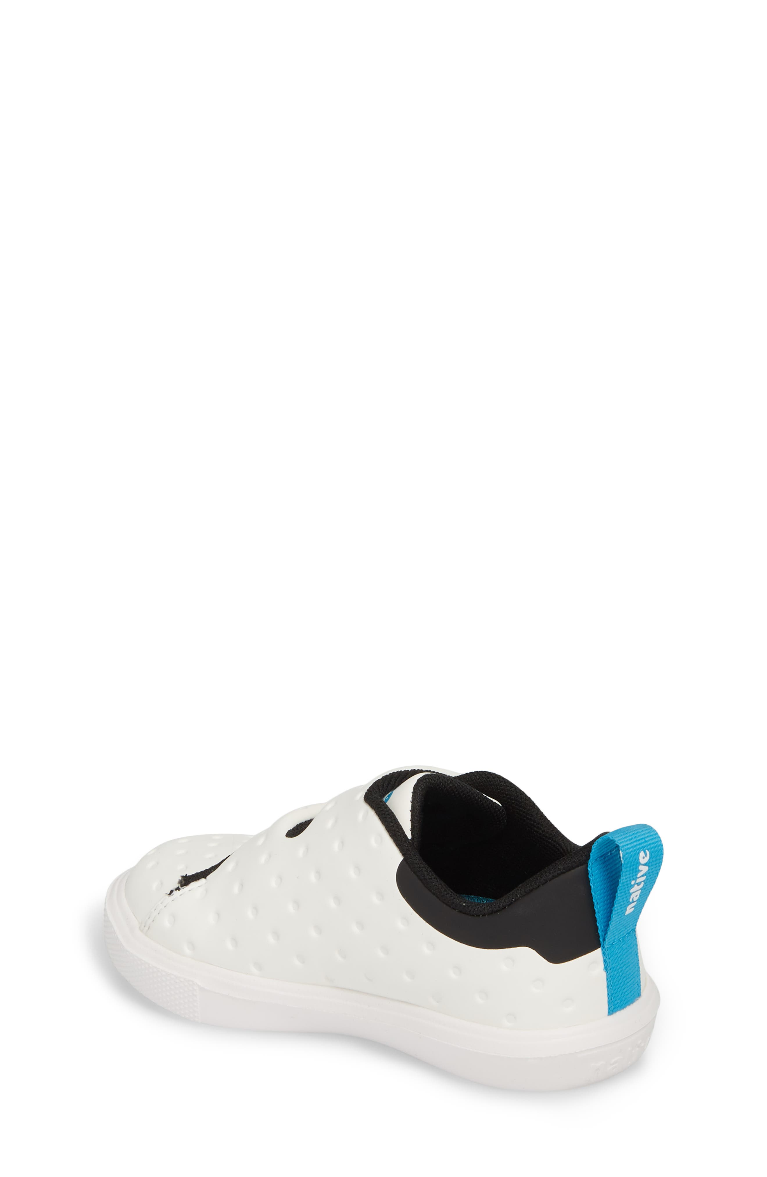 Monaco Sneaker,                             Alternate thumbnail 2, color,                             SHELL WHITE/ JIFFY BLACK