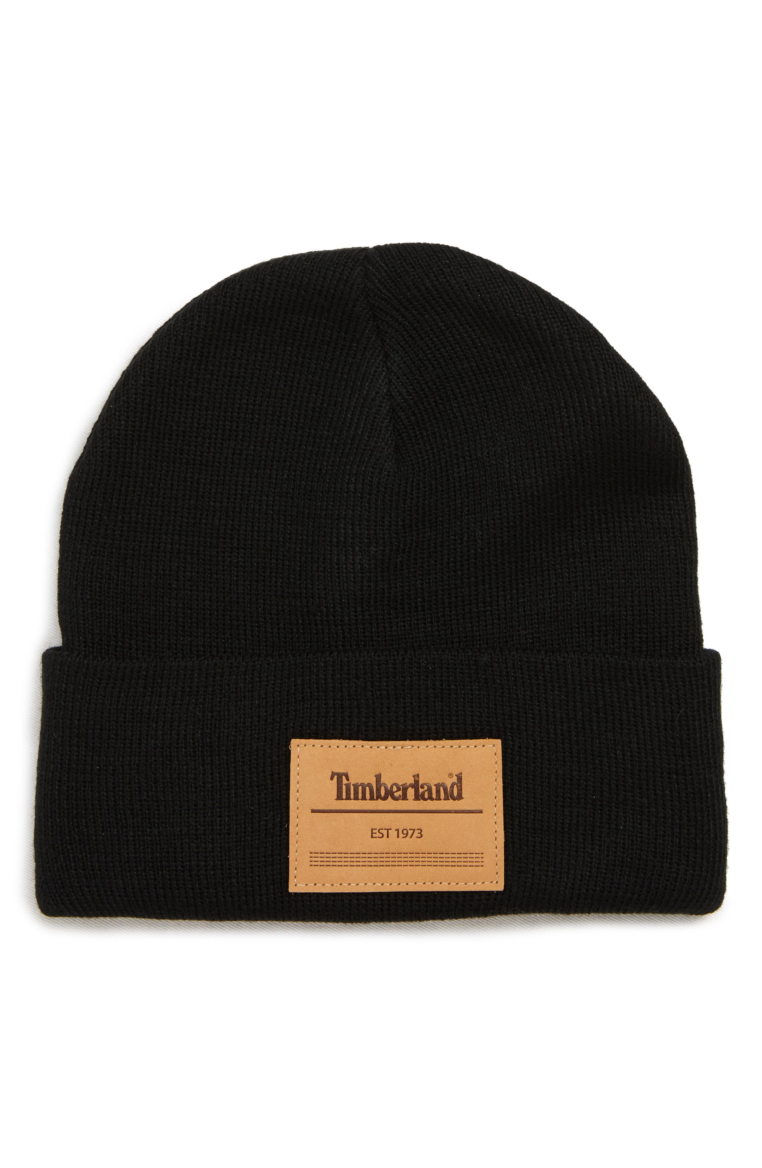 Watch Logo Patch Beanie, Main, color, 001
