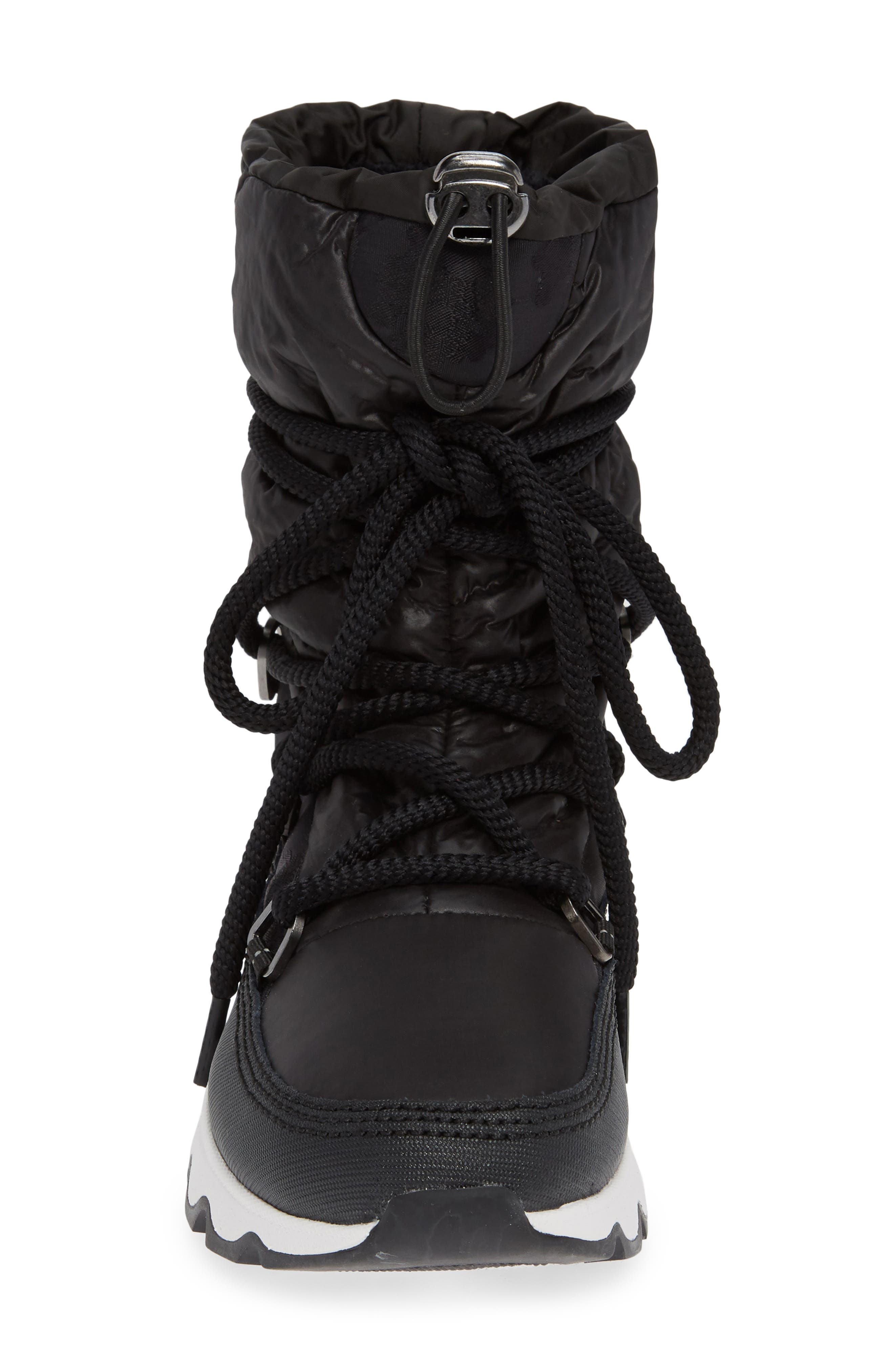 Kinetic Waterproof Insulated Winter Boot,                             Alternate thumbnail 4, color,                             CAMO/ BLACK/ WHITE