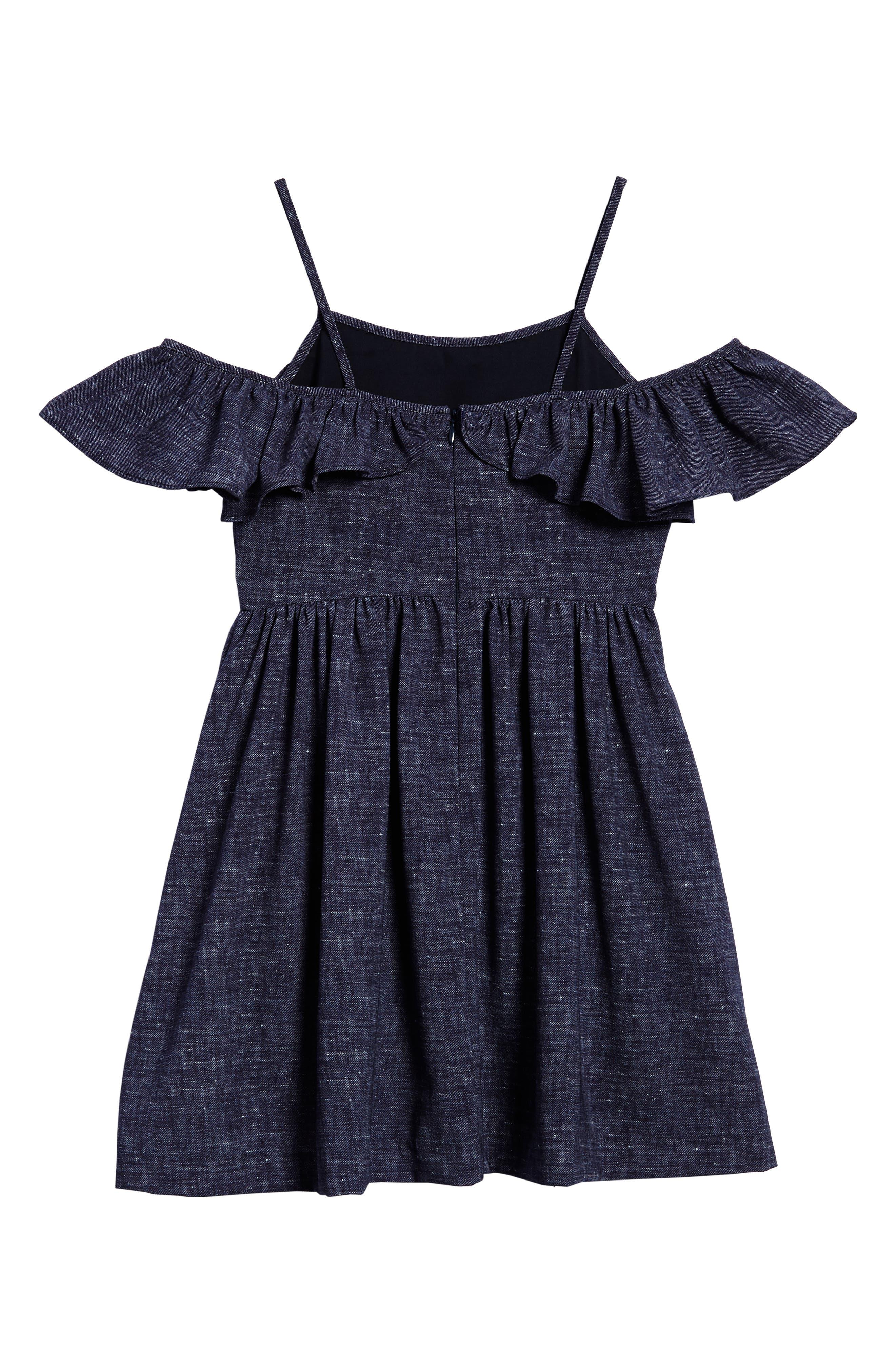 Bella Cold Shoulder Dress,                             Alternate thumbnail 2, color,                             464