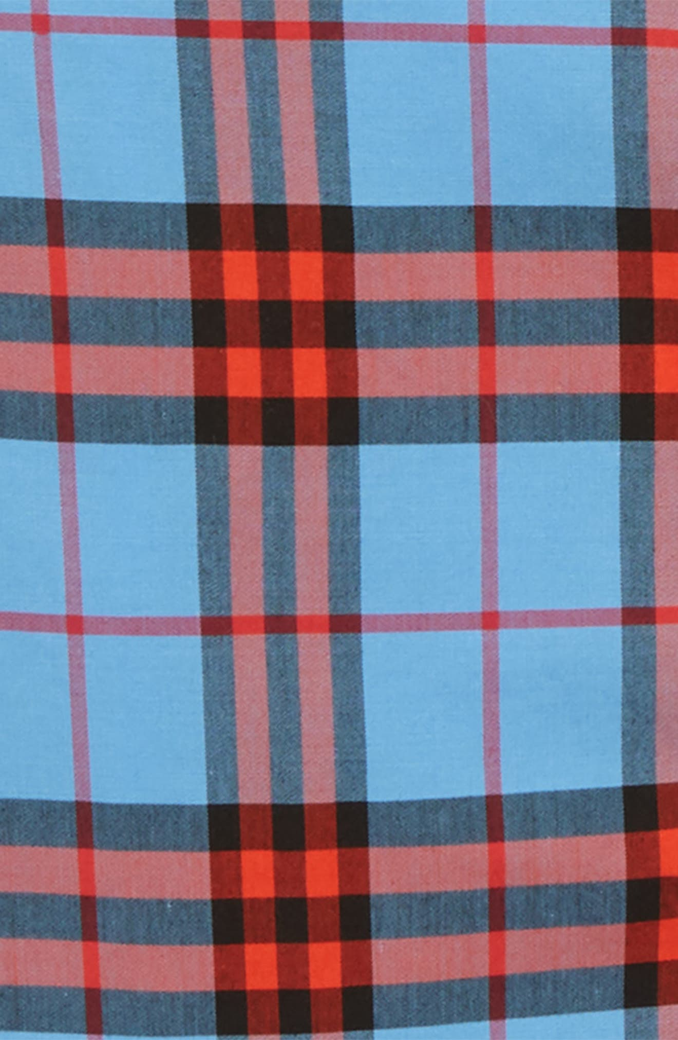 Clarkey Plaid Woven Shirt,                             Alternate thumbnail 2, color,                             CORNFLOWER BLUE