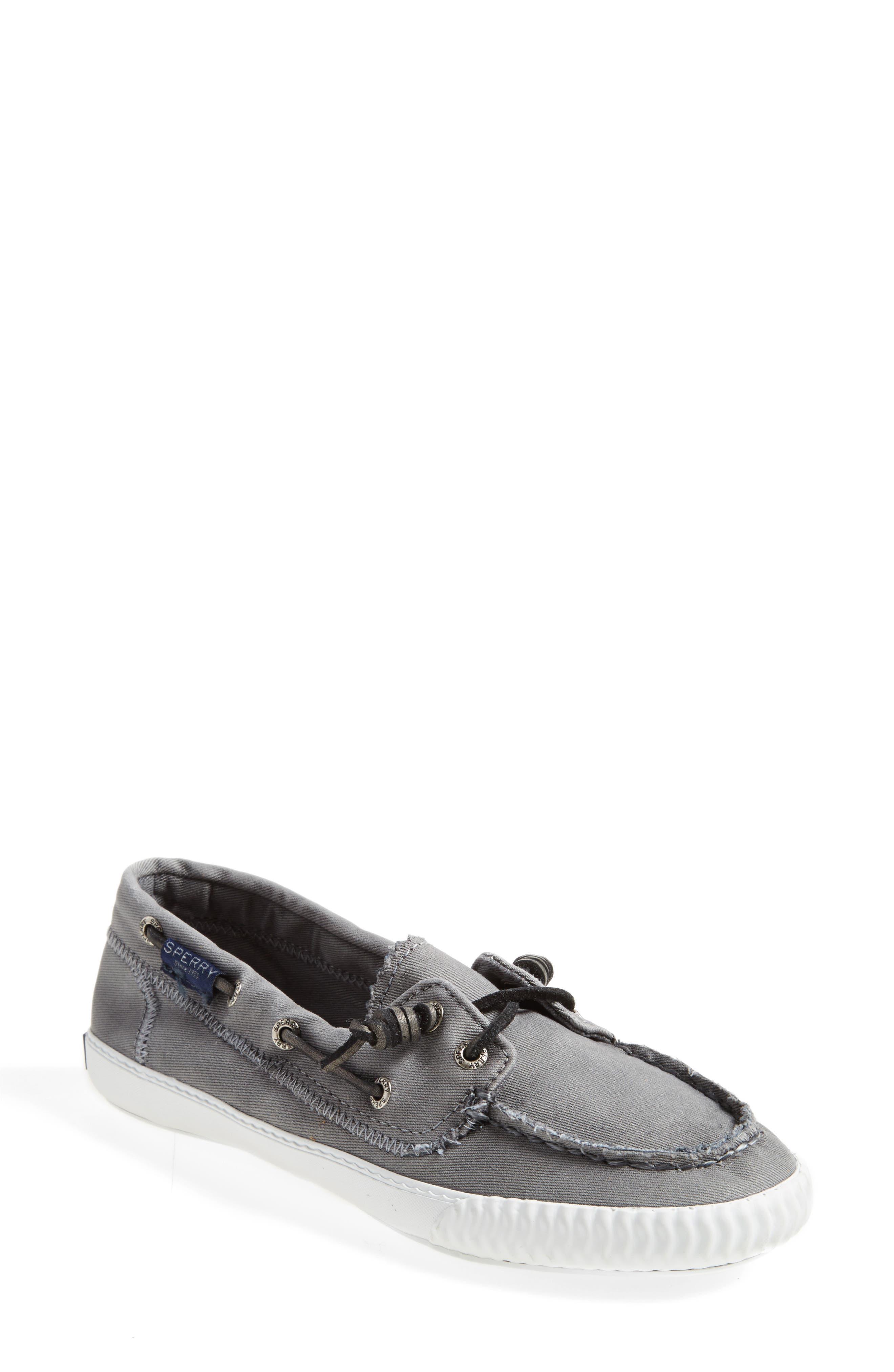 Paul Sperry 'Sayel Away' Sneaker,                             Alternate thumbnail 5, color,                             GREY