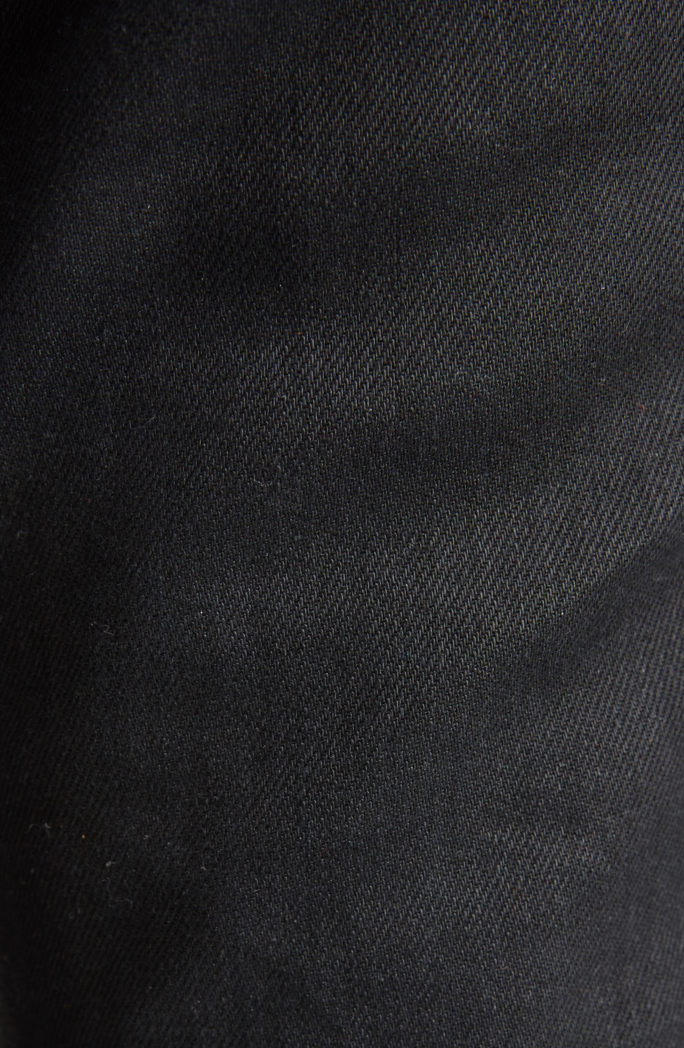 High Waist Skinny Jeans,                             Alternate thumbnail 5, color,                             001