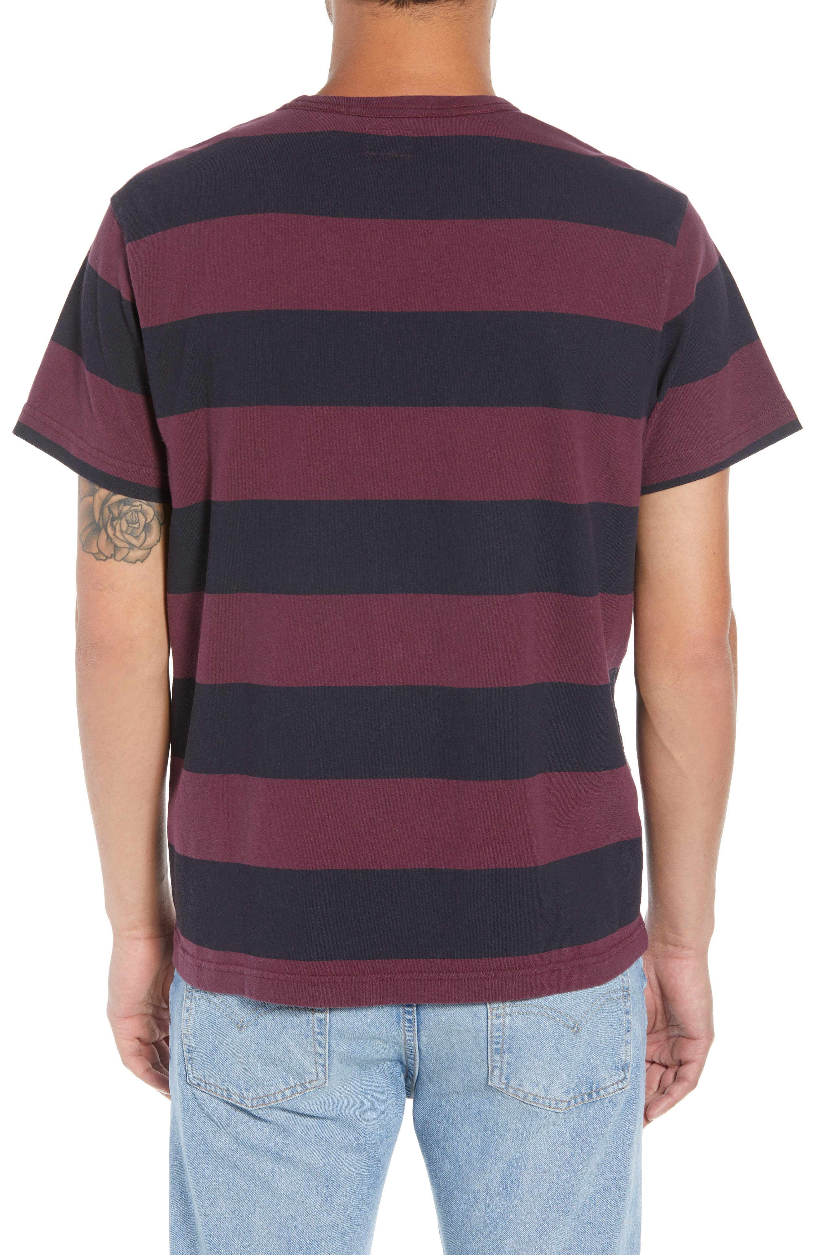 Stripe T-Shirt,                             Alternate thumbnail 2, color,                             500