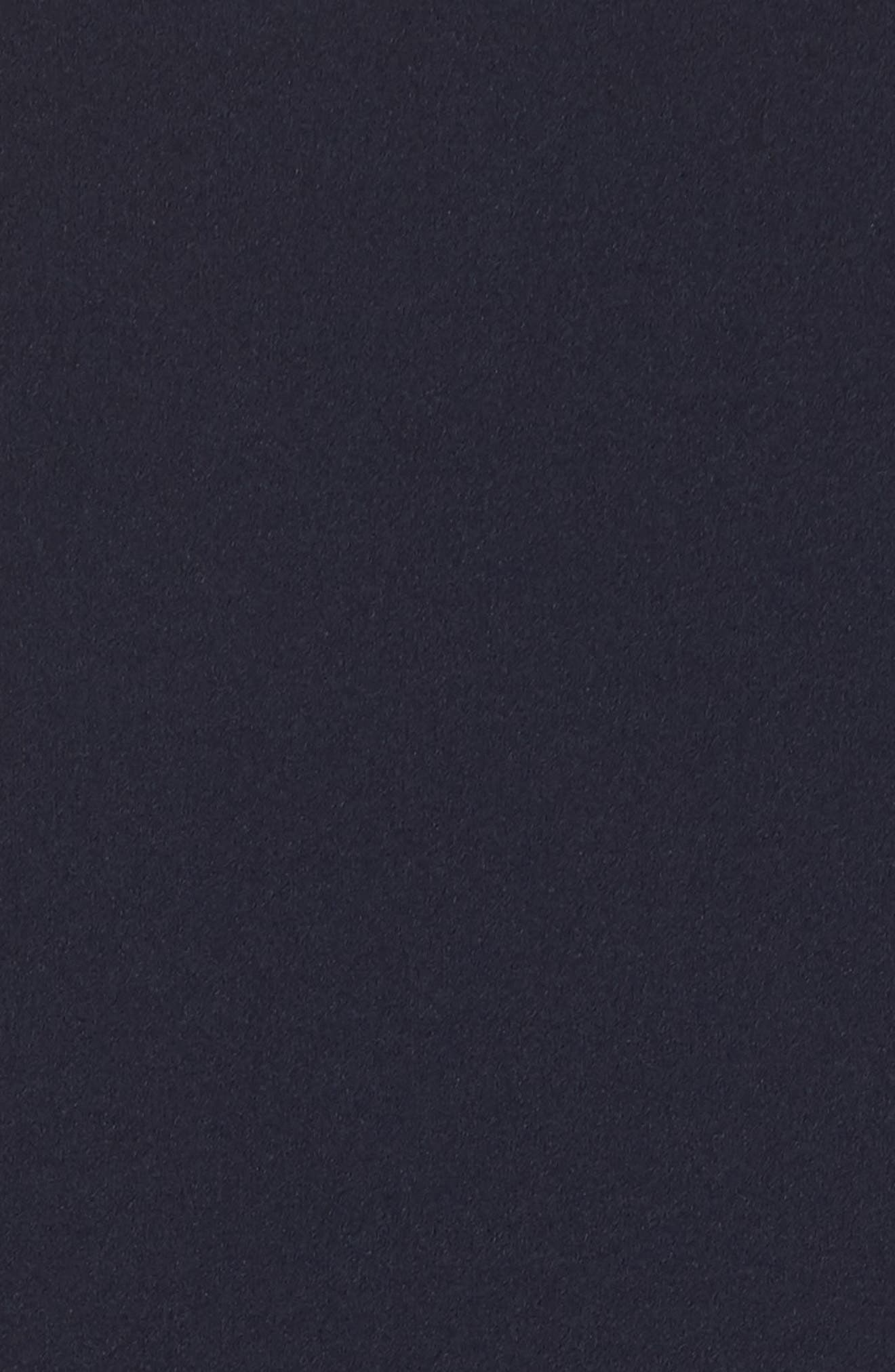 Sleeveless Scuba Crepe Gown,                             Alternate thumbnail 5, color,                             410