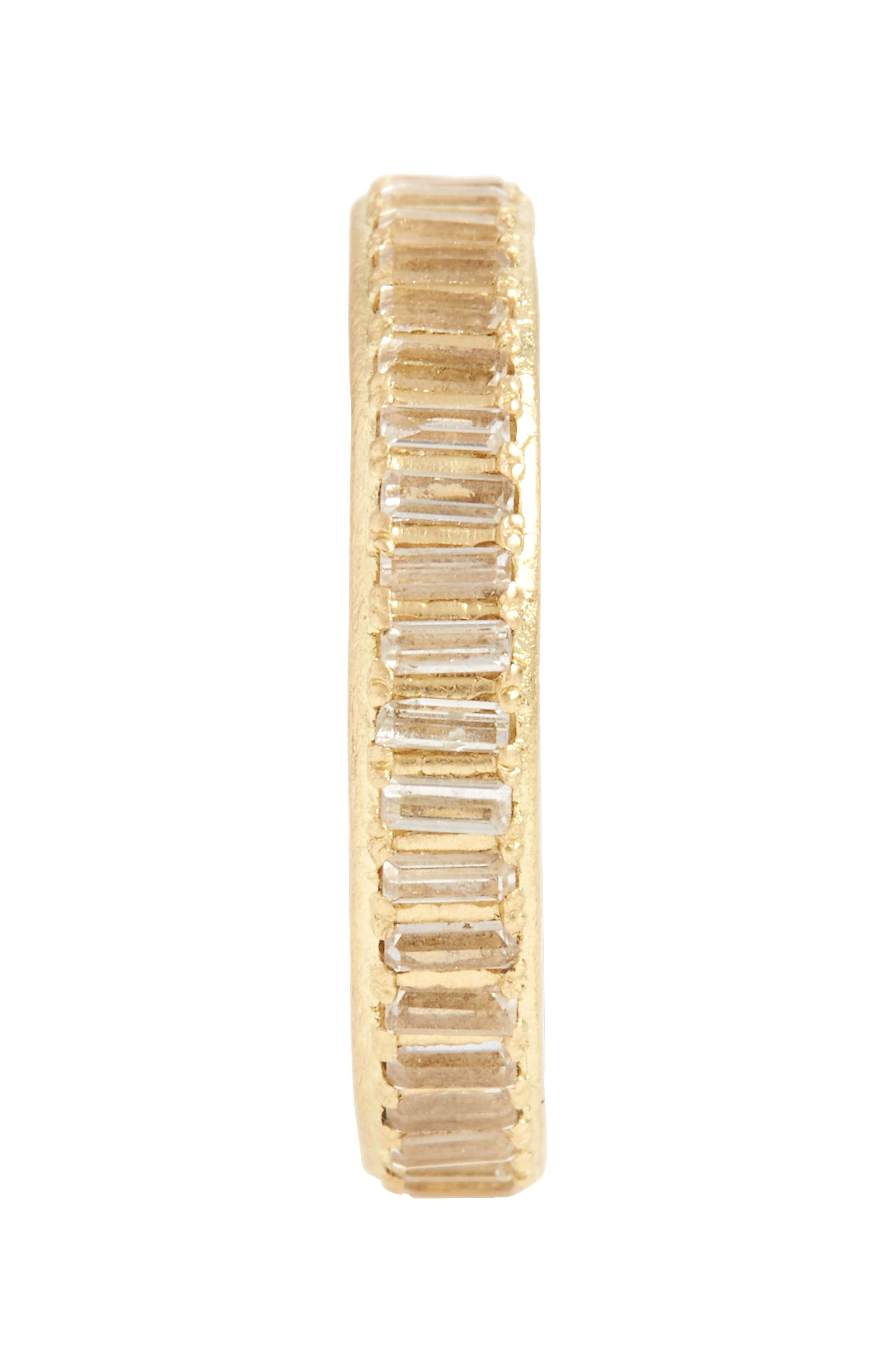 Sueño Sapphire Band Ring,                             Alternate thumbnail 2, color,                             GOLD