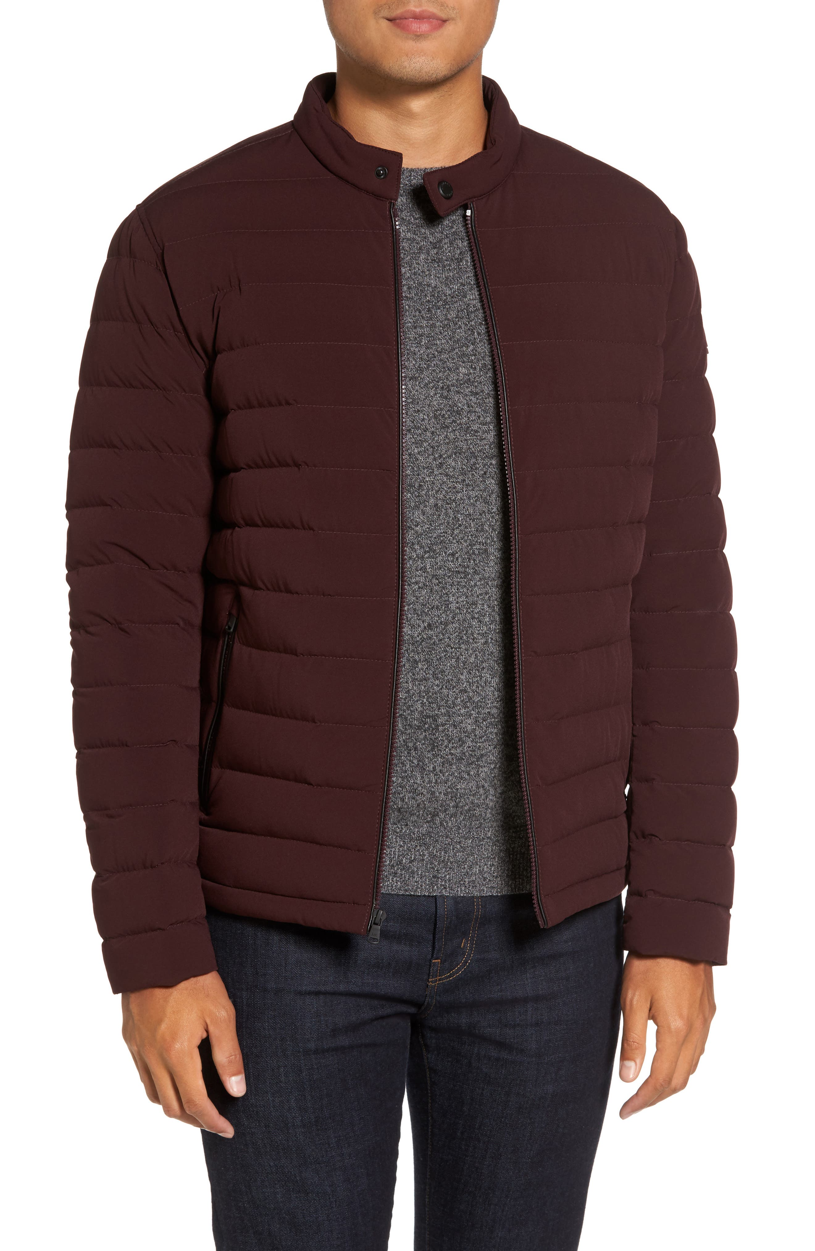 Packable Stretch Down Jacket,                             Main thumbnail 5, color,
