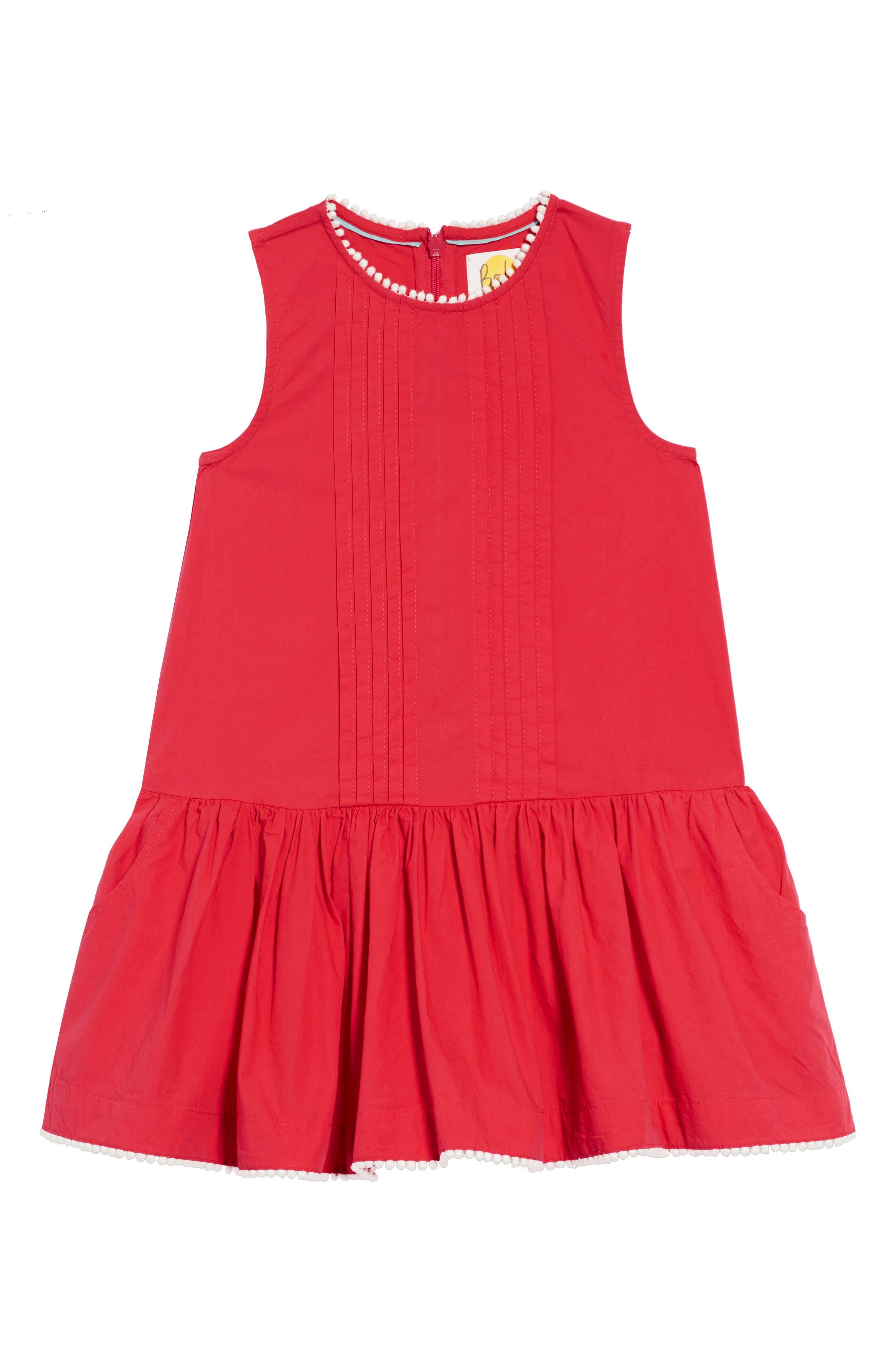 Drop Waist Woven Dress,                         Main,                         color, 658