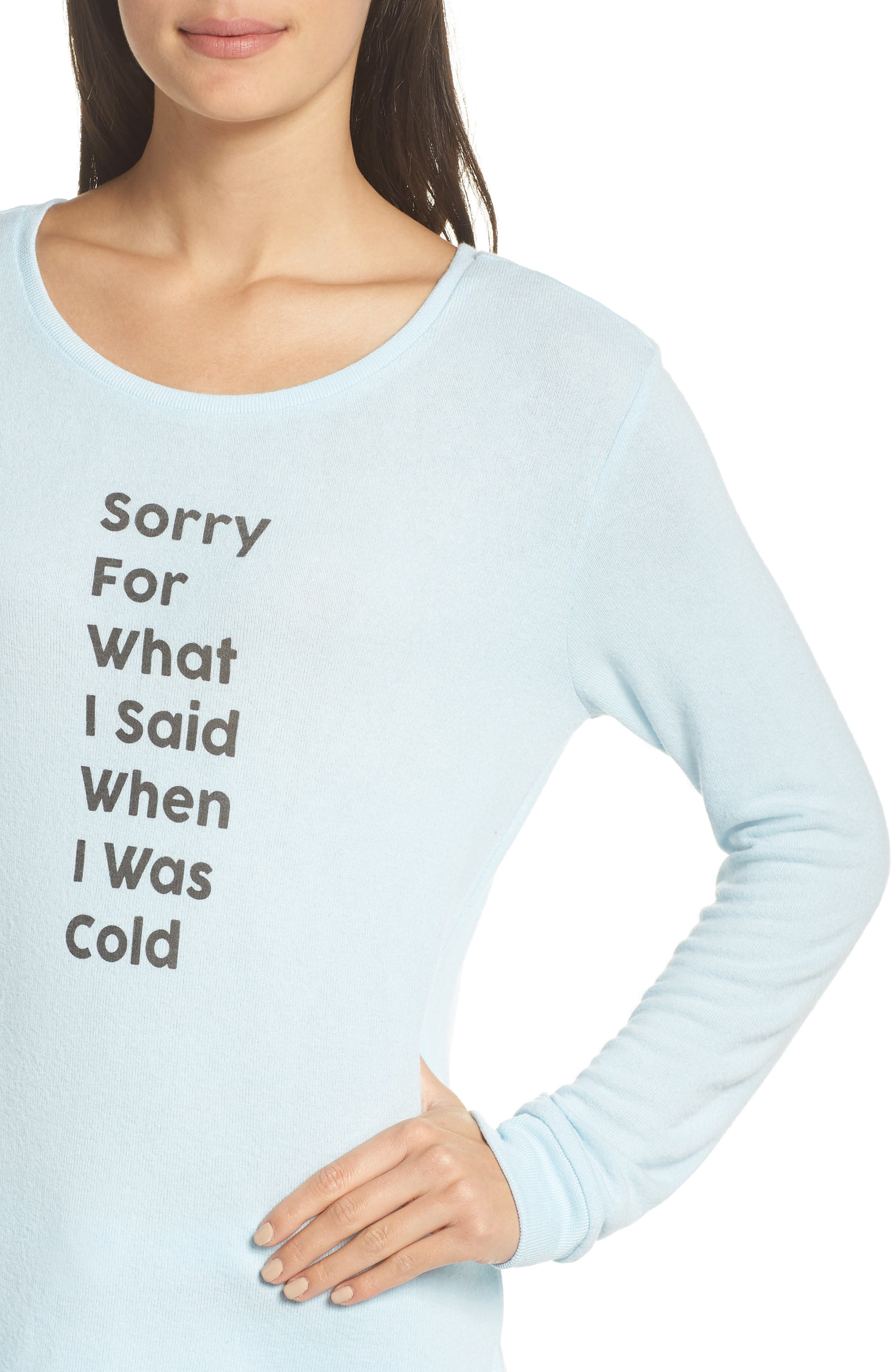 Too Cool Pullover,                             Alternate thumbnail 4, color,                             BLUE OMPHALODES