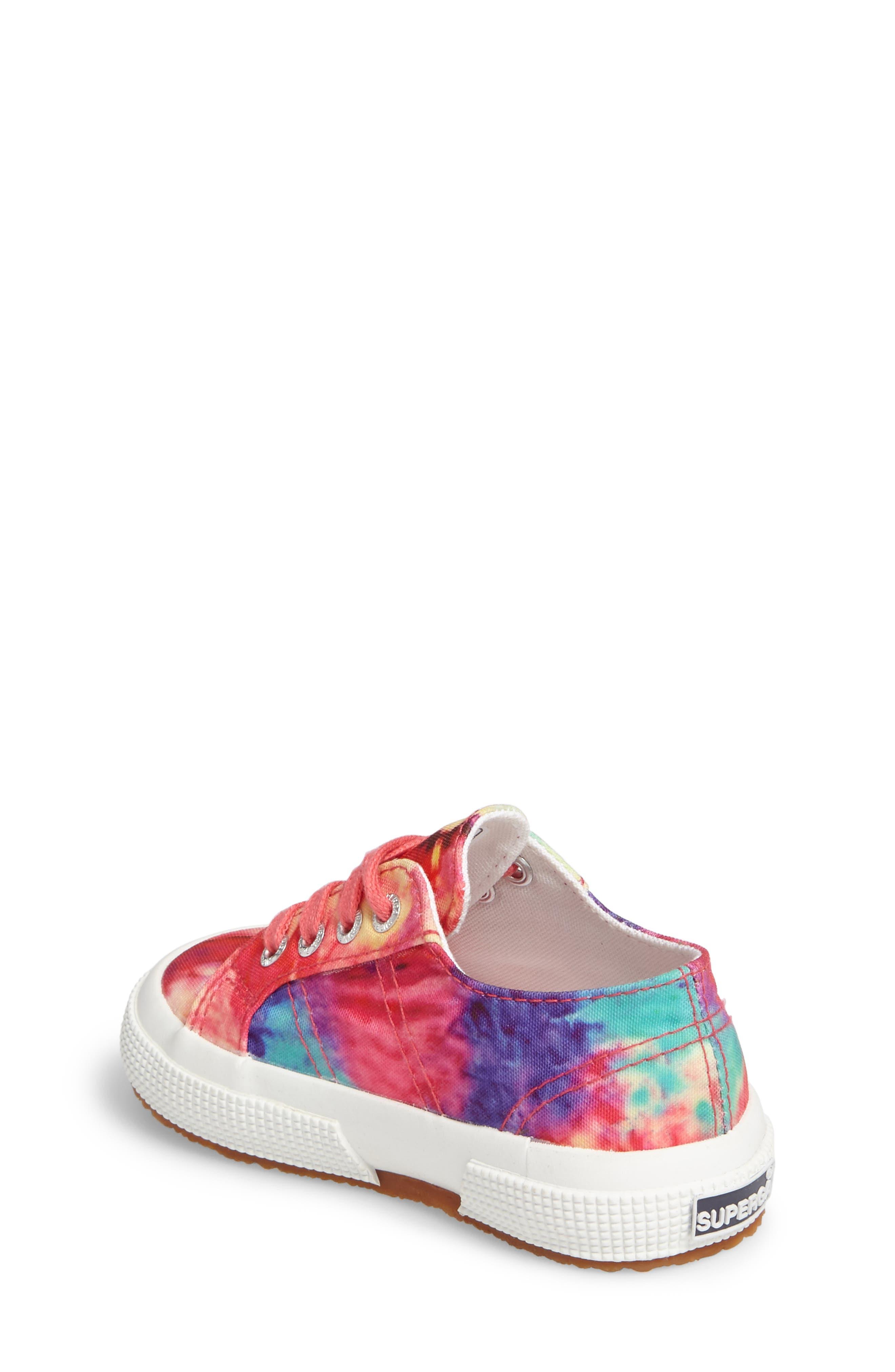 Tie Dye Classic Sneaker,                             Alternate thumbnail 2, color,                             807