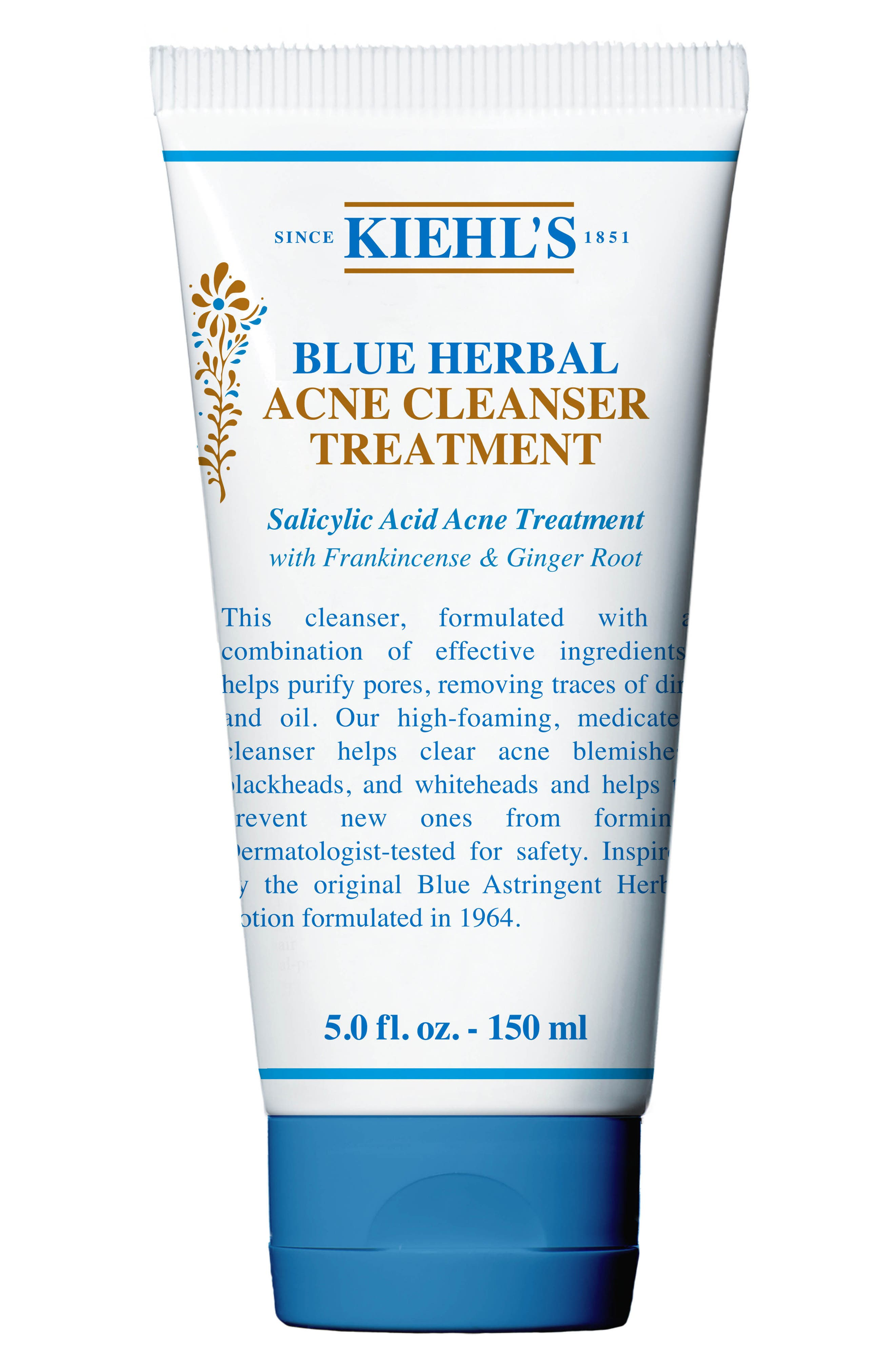 Blue Herbal Cleanser, Main, color, NO COLOR