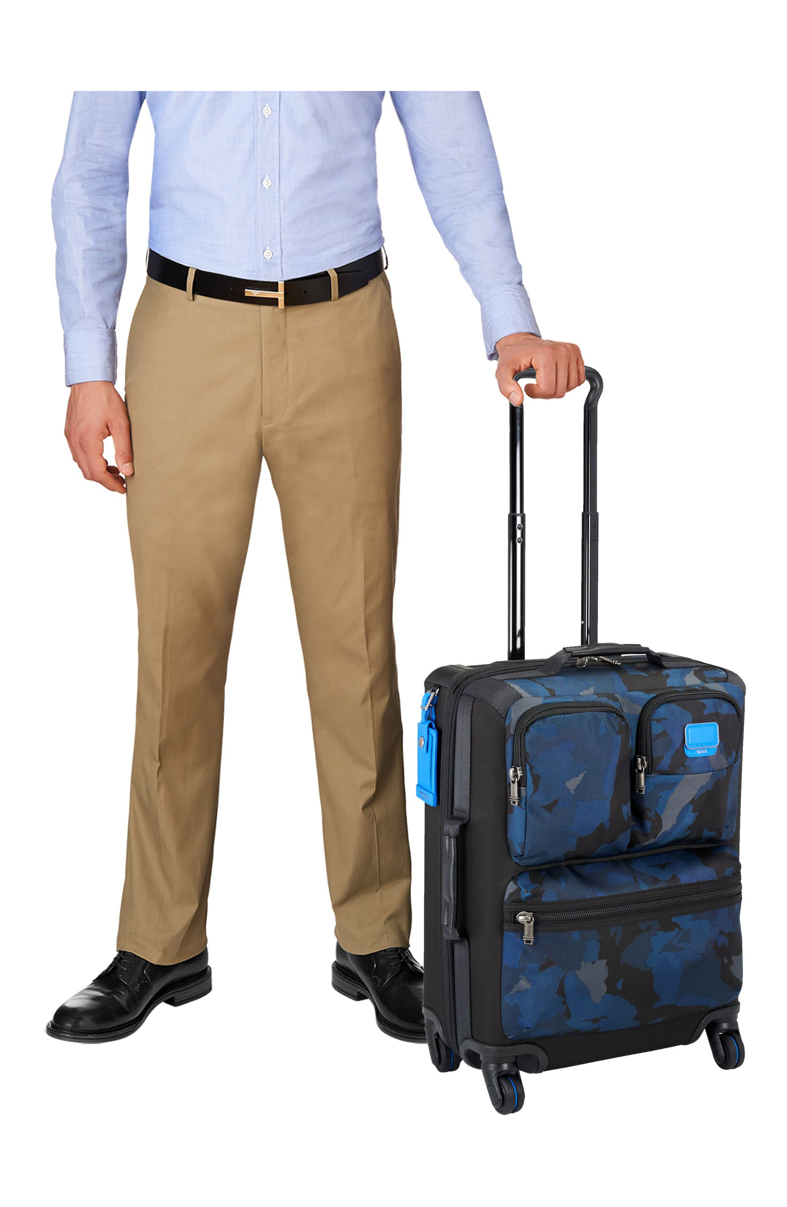 Alpha Bravo Kirtland 22 Inch Continental Wheeled Carry-On,                             Alternate thumbnail 4, color,                             429