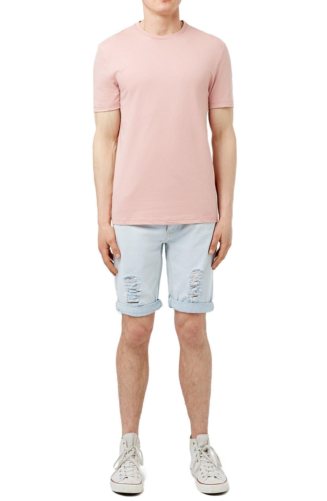 Slim Fit Crewneck T-Shirt,                             Alternate thumbnail 373, color,