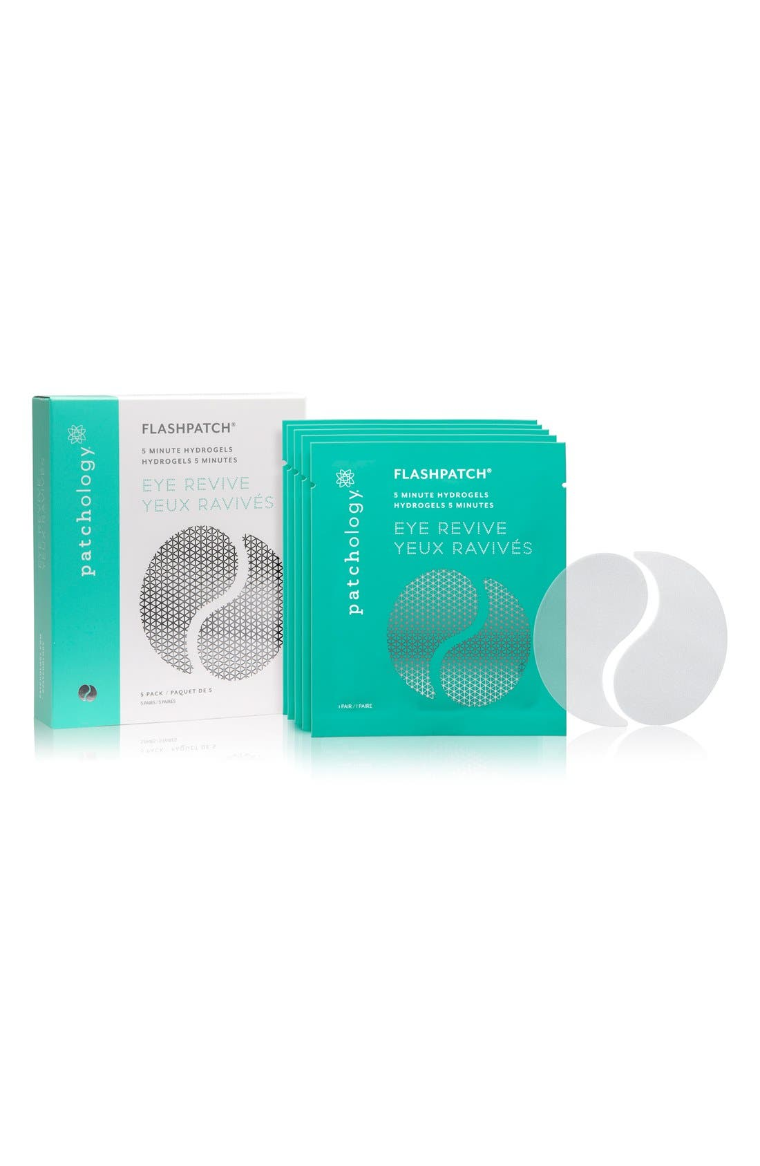 FlashPatch<sup>™</sup> Rejuvenating 5-Minute Eye Gels,                             Main thumbnail 1, color,                             NO COLOR
