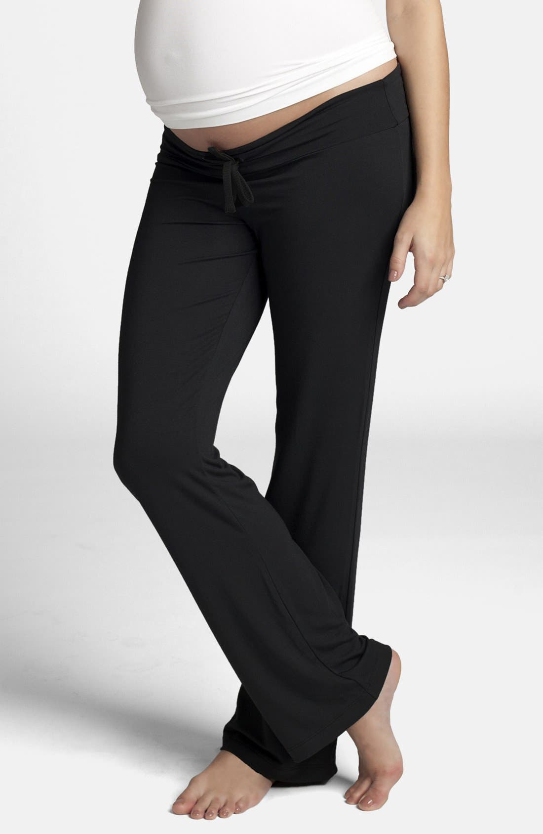 Maternity Lounge Pants,                         Main,                         color, 001