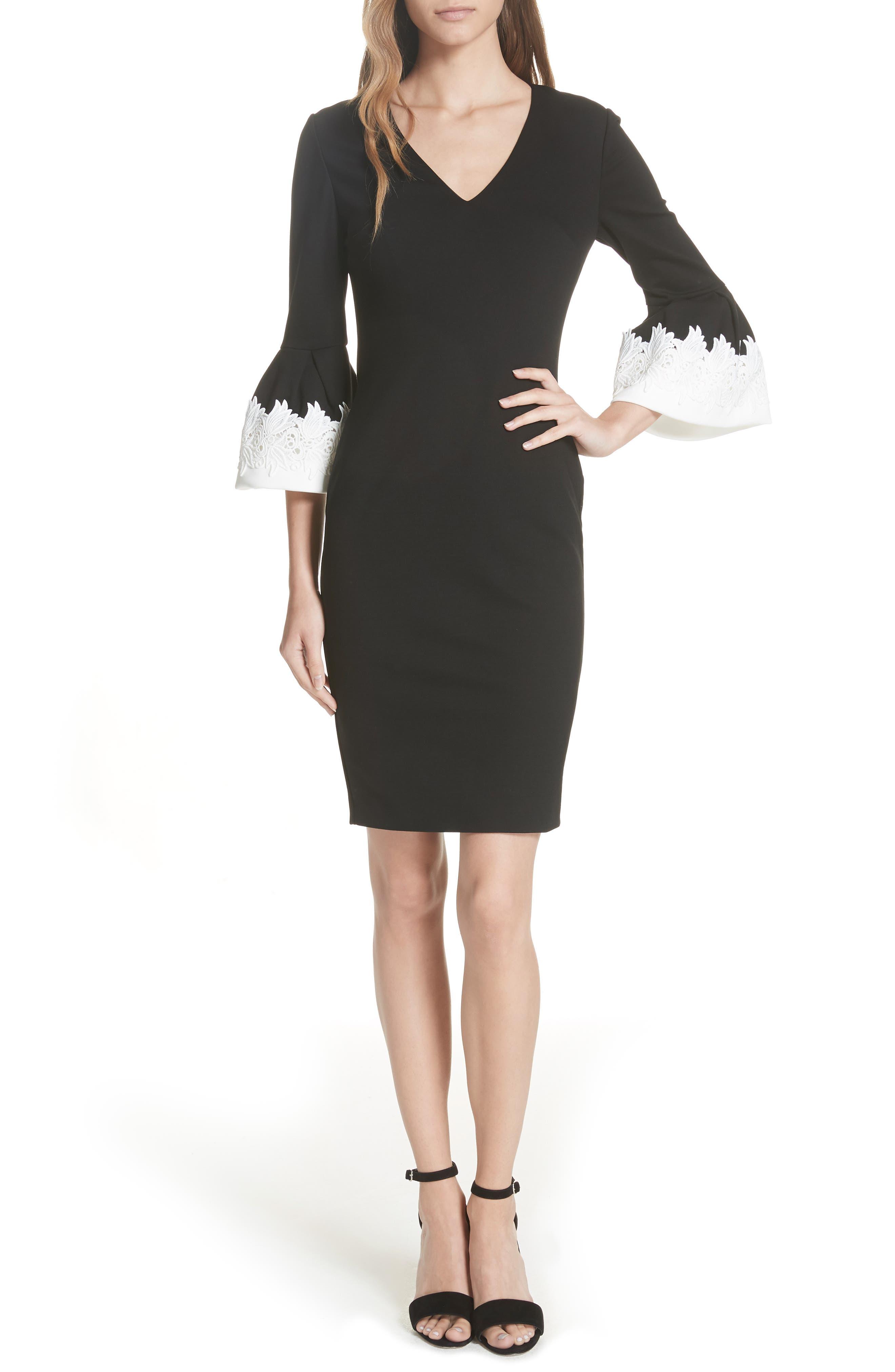 Rastrel Sheath Dress,                             Main thumbnail 1, color,                             001
