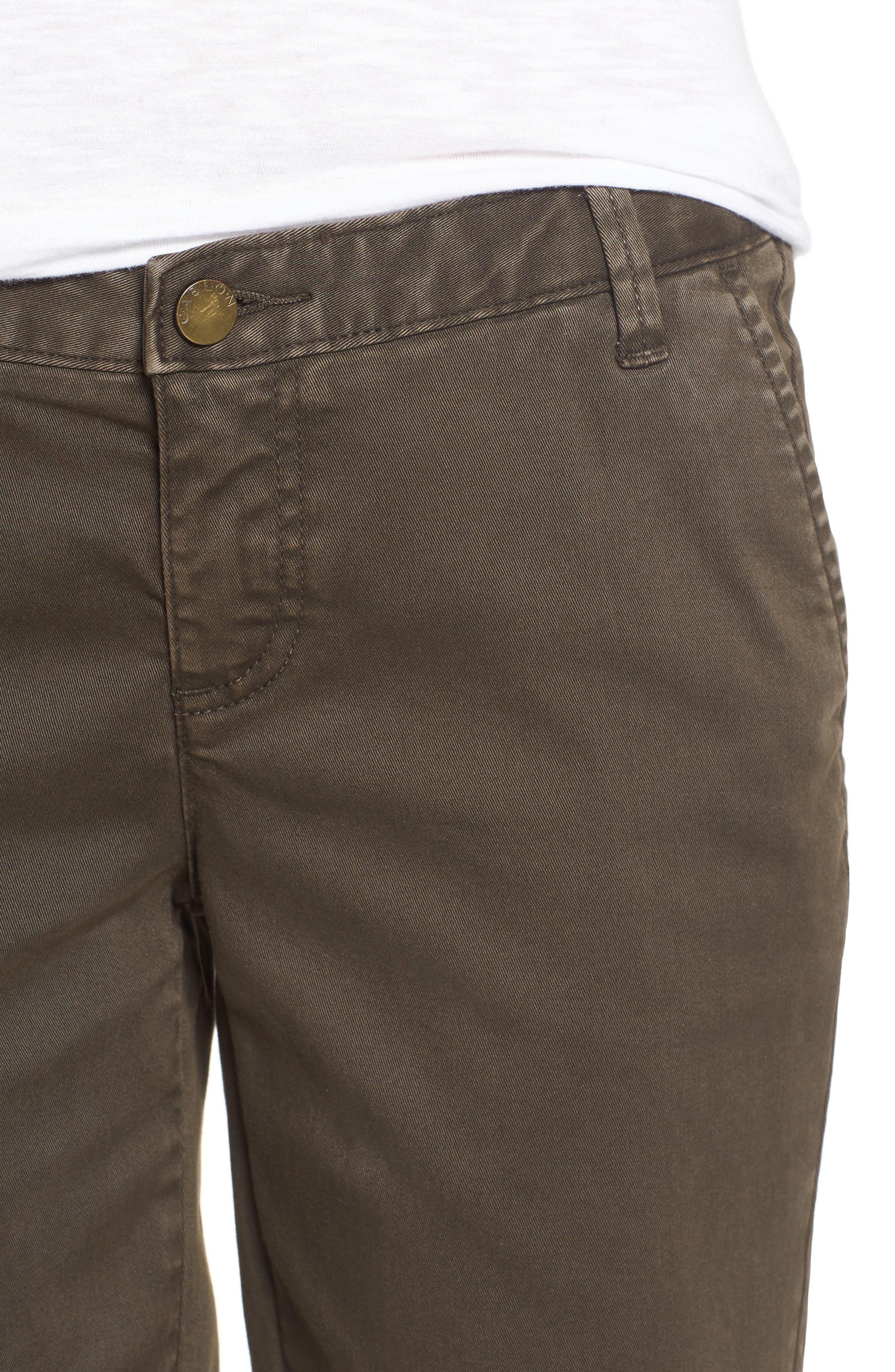 Twill Shorts,                             Alternate thumbnail 42, color,