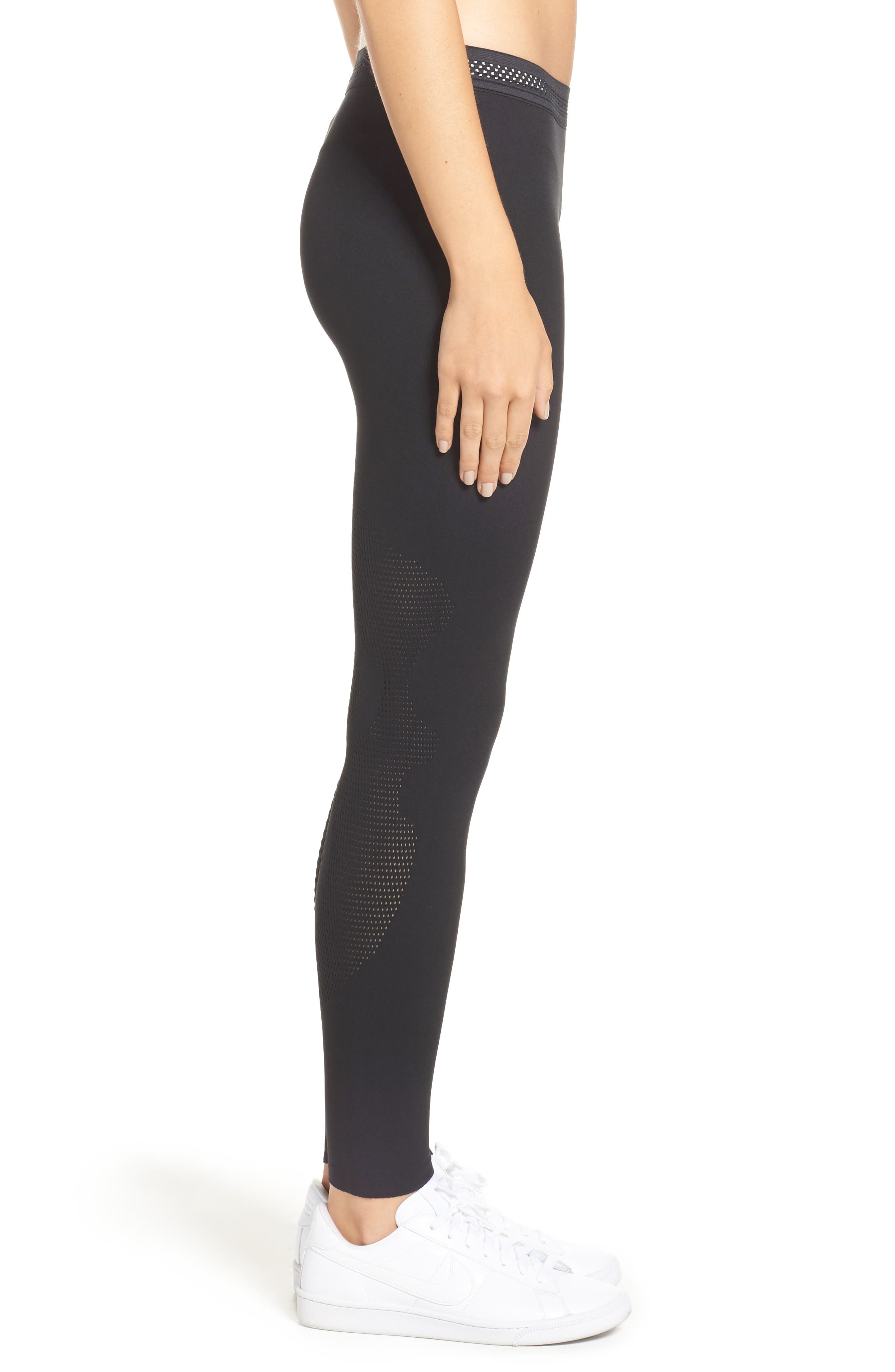 NikeLab Essential Training Tights,                             Alternate thumbnail 3, color,                             010