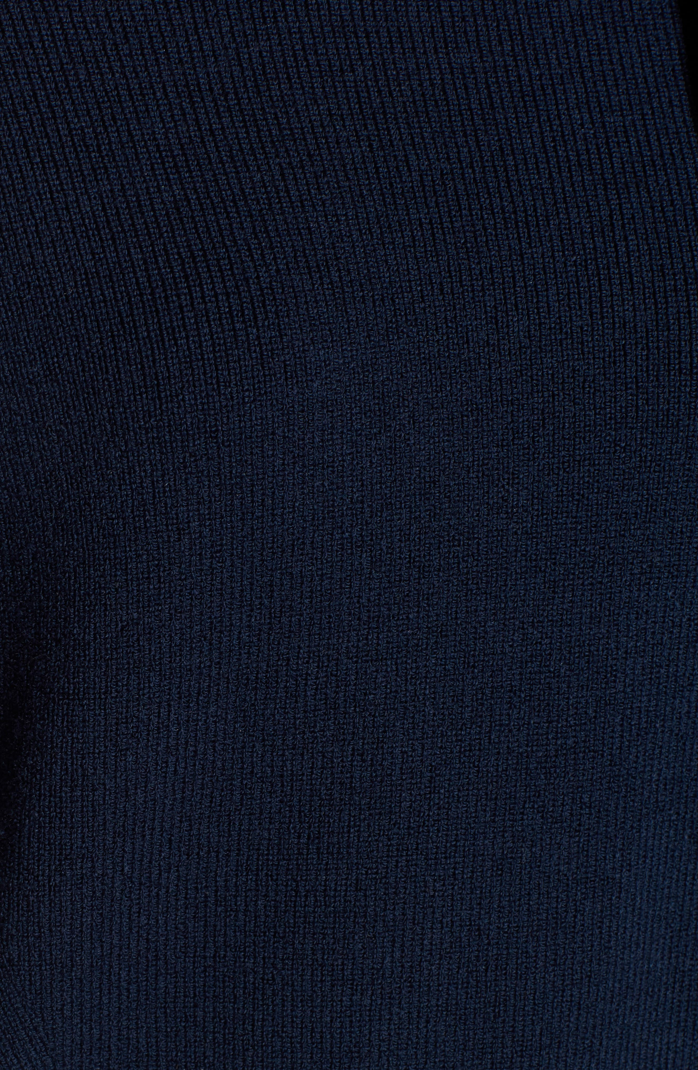 Bow Shoulder Sweater,                             Alternate thumbnail 6, color,                             410