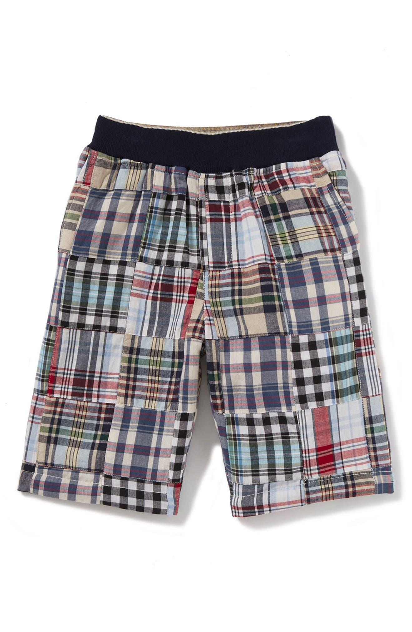 Maxwell Patchwork Shorts,                             Main thumbnail 1, color,                             400